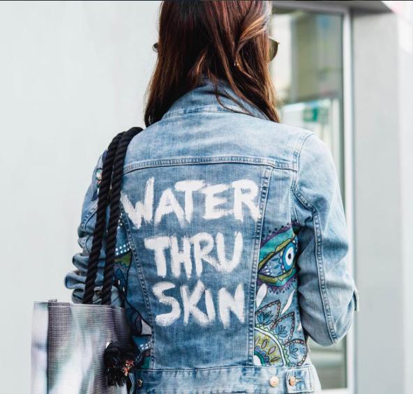 Valeria Hinojosa, WaterThruSkin.com, 2017.