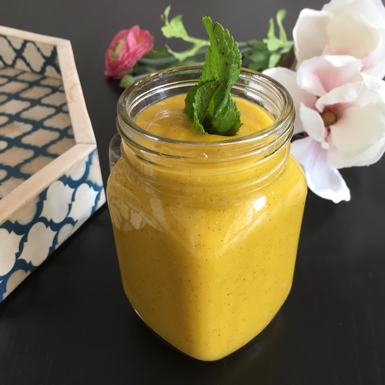 Mango smoothie / Photo: Style Destino.