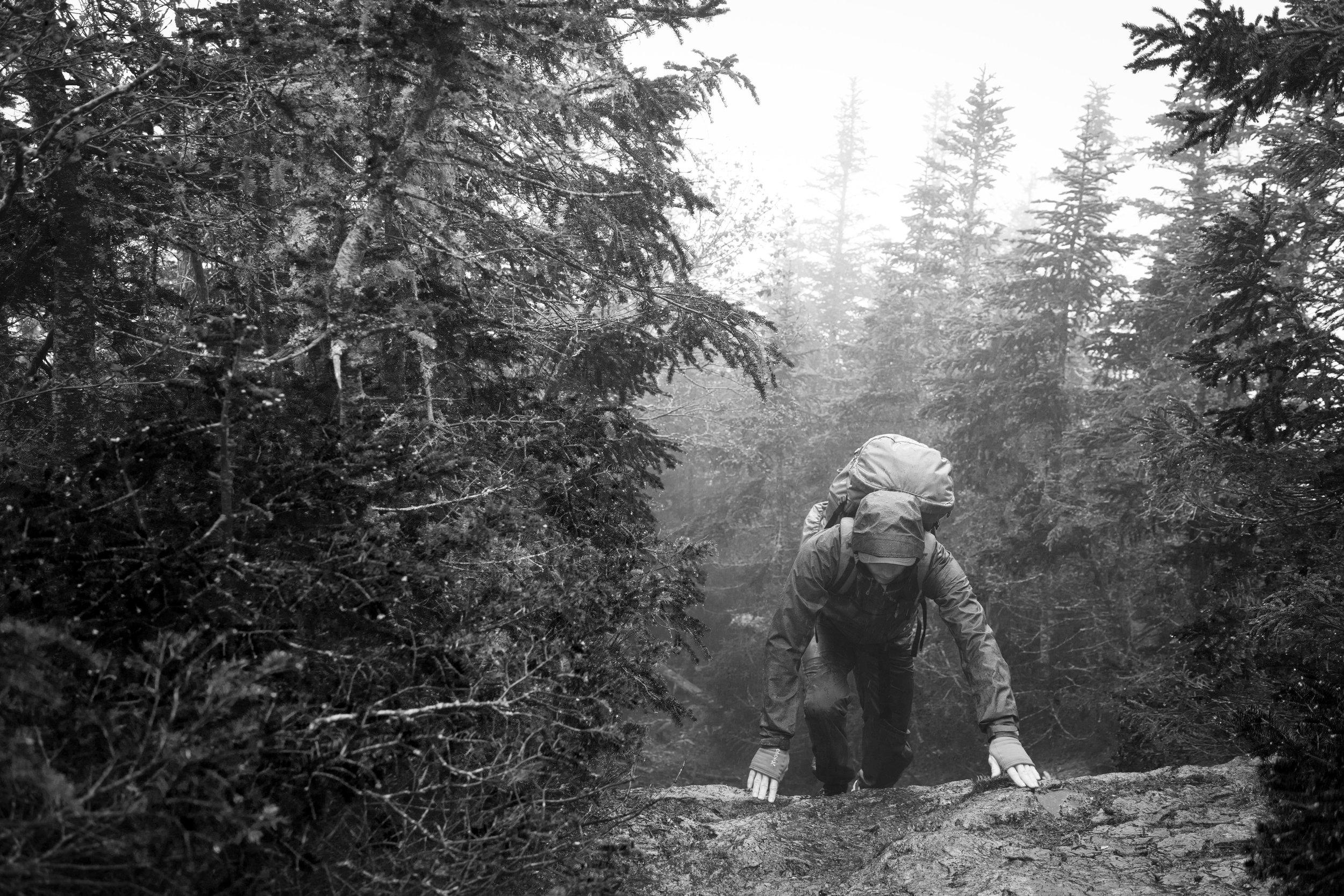 Houdini: Sustainable Sportswear #Savant - Photo: David Kvart / White Mountains New Hampshire USA