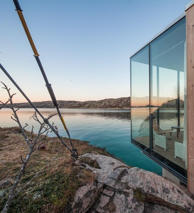 Sea Cabin Manshausen / Photo: Steve King