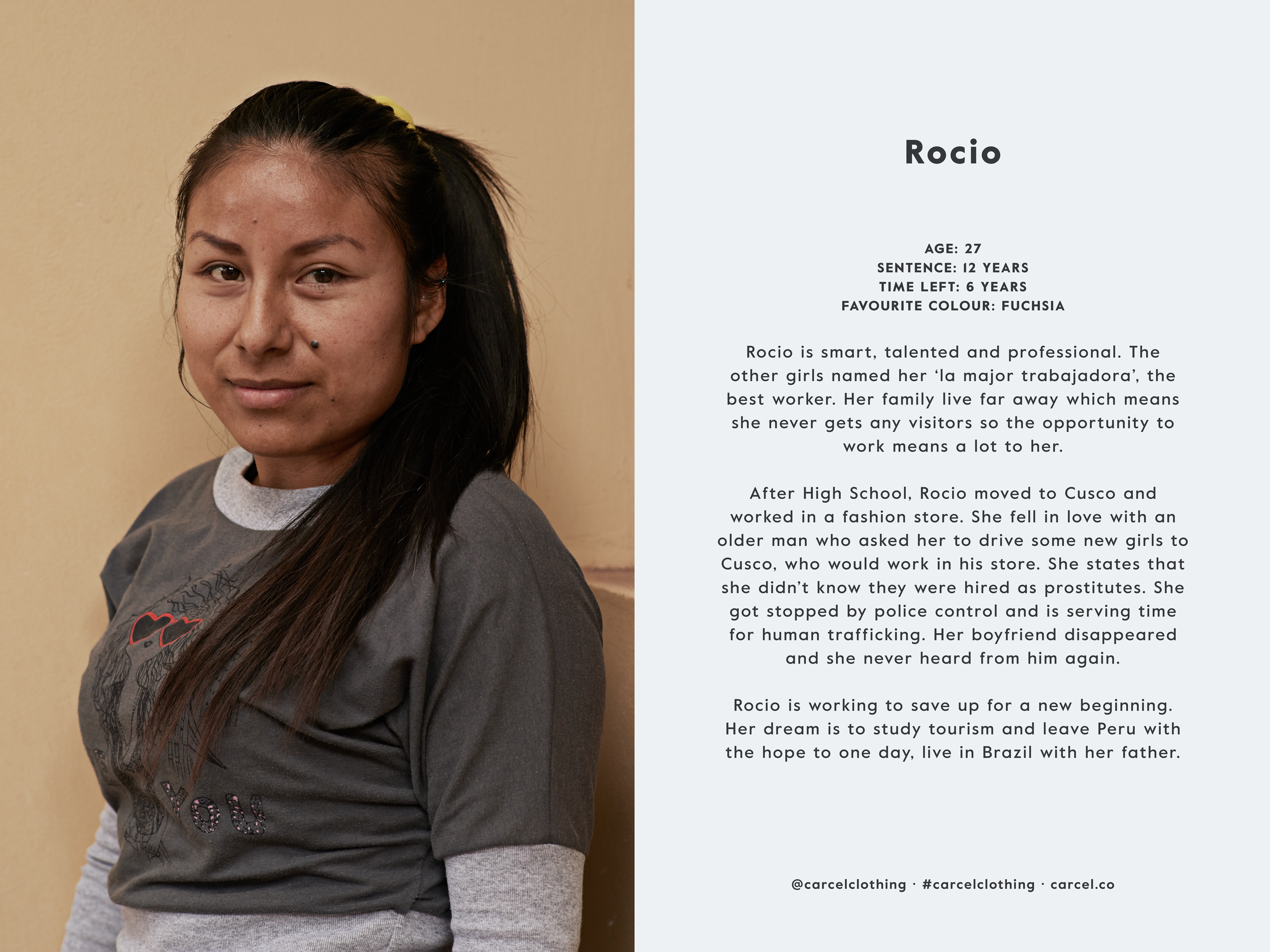 Carcel:Rocio's Story /  Photo Credit: Carcel.
