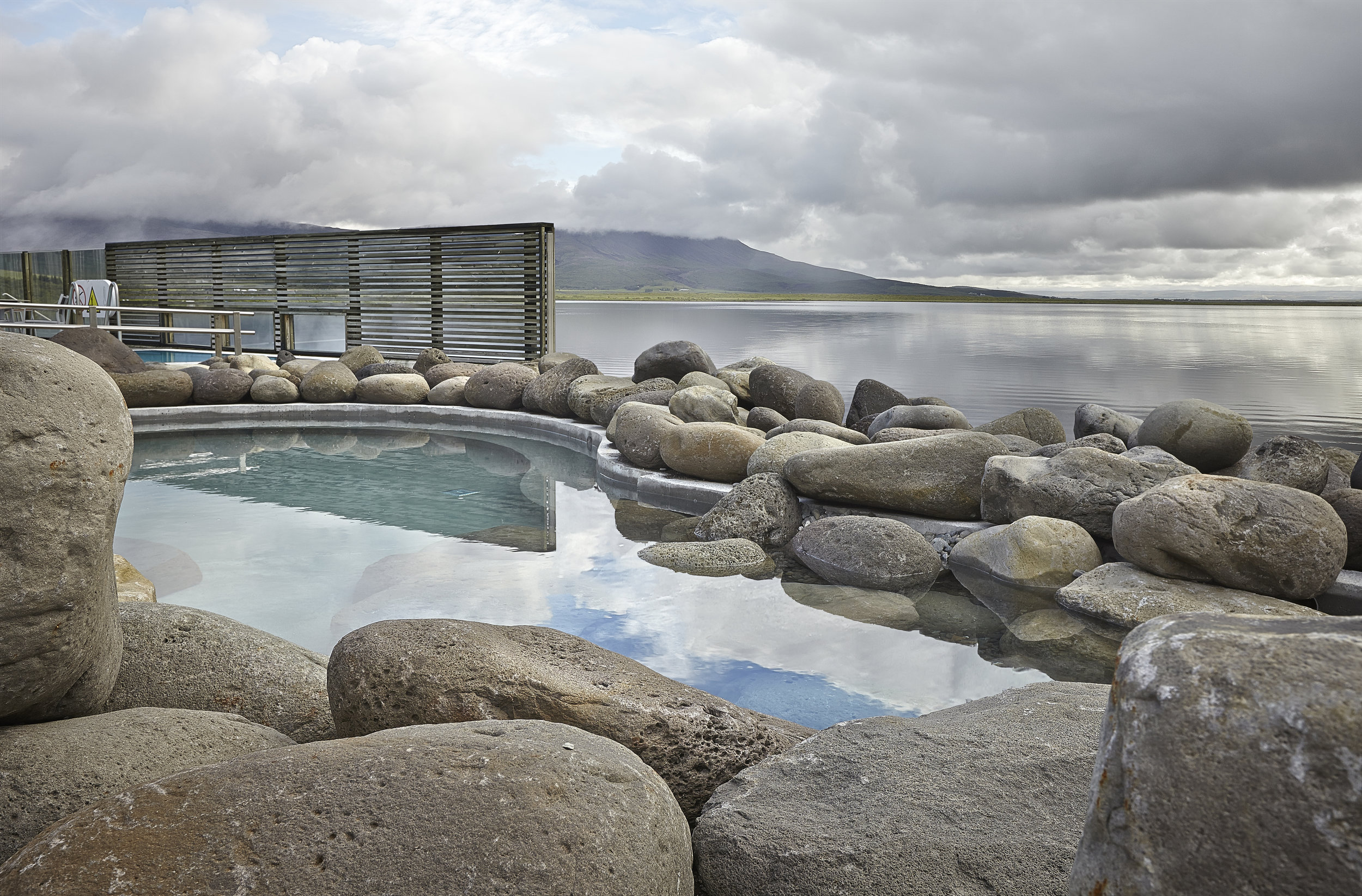 Fontana Geothermal Spa in Laugarvatn, Iceland