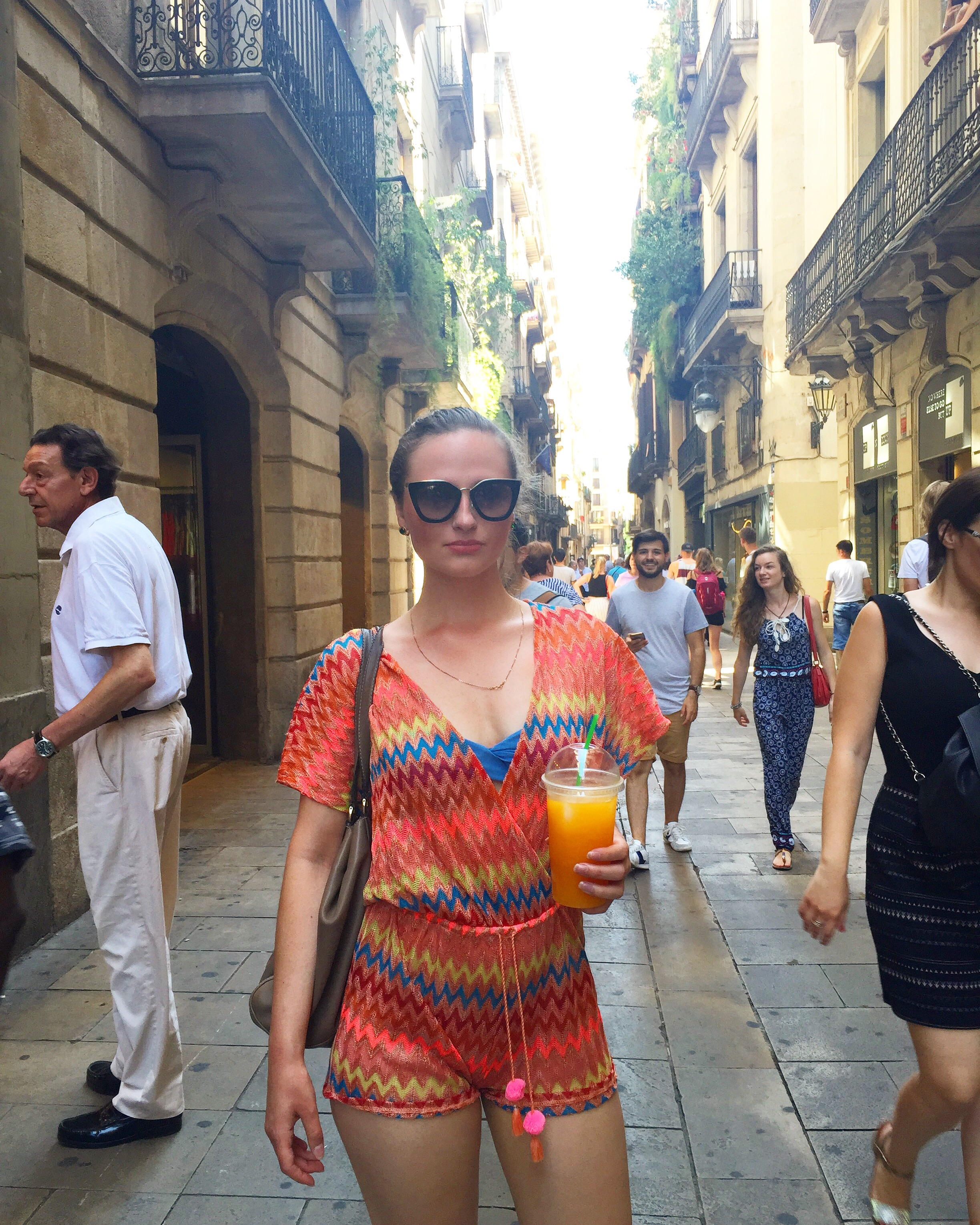 Editor's Letter August: A Spanish Holiday... Unfiltered #Savant - Gothic Quarter, Barcelona / Photo: Author's own.