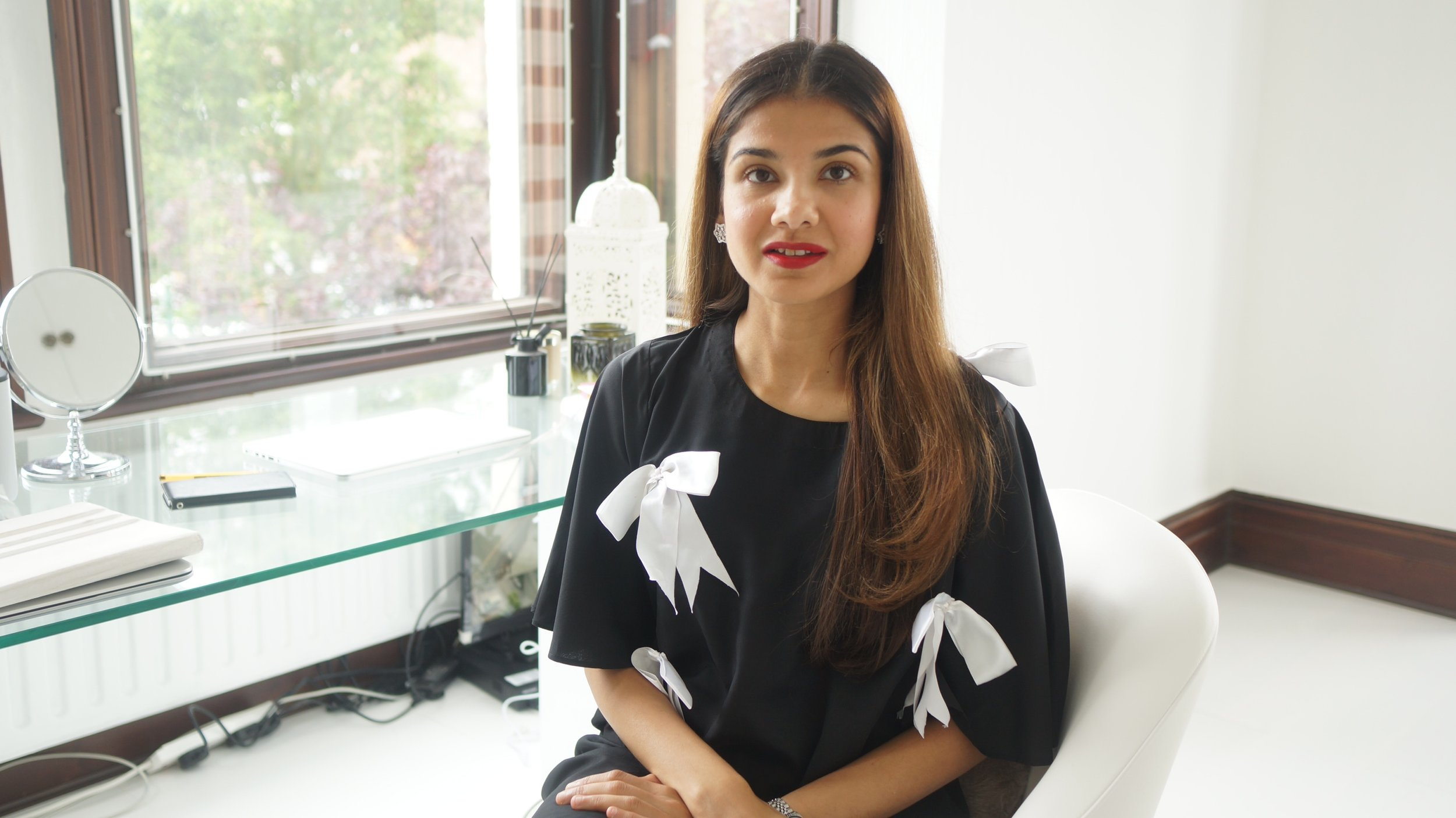 Image: Ayesha Mustafa / Founder of Fashion Compassion