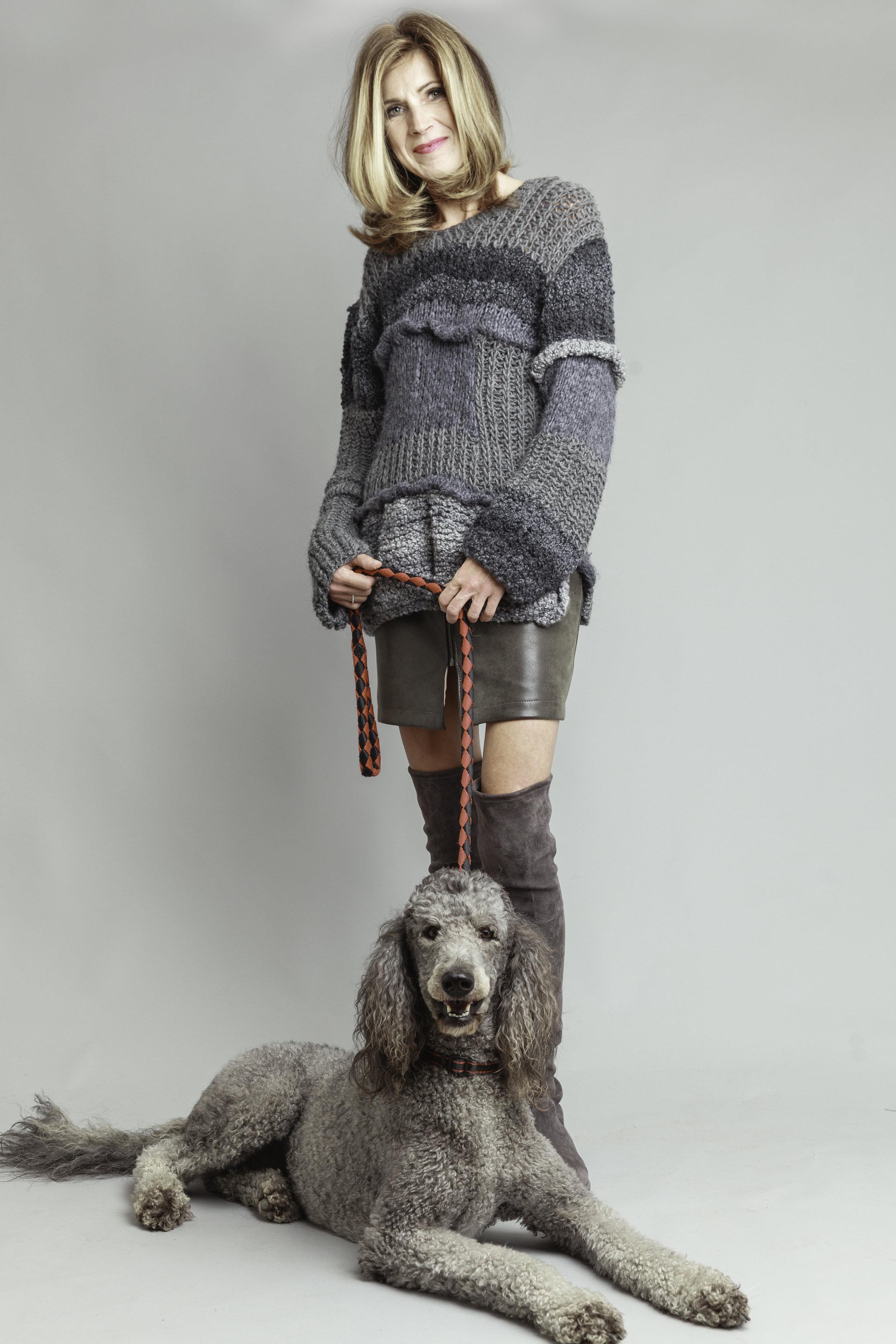 Gunda Hafner: Uncompromising Eco-Conscious Fashion for the Modern-Day Woman #Savant - Image:Inna Kostukovsky