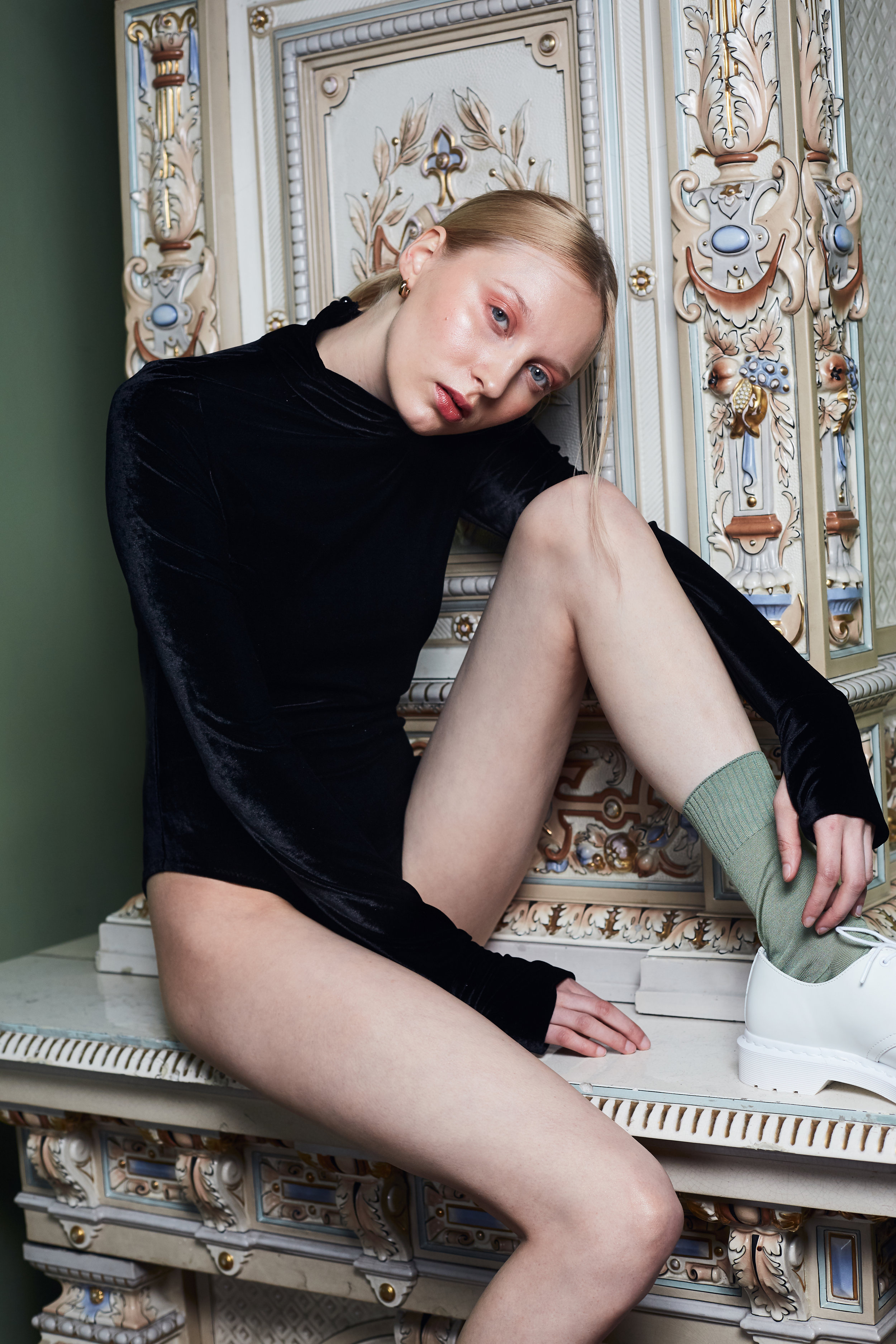 Photography: Atte Tanner / Model: Iris Haapanen / Styling: Vivian Lindholm / MUA: Carmen Rosar