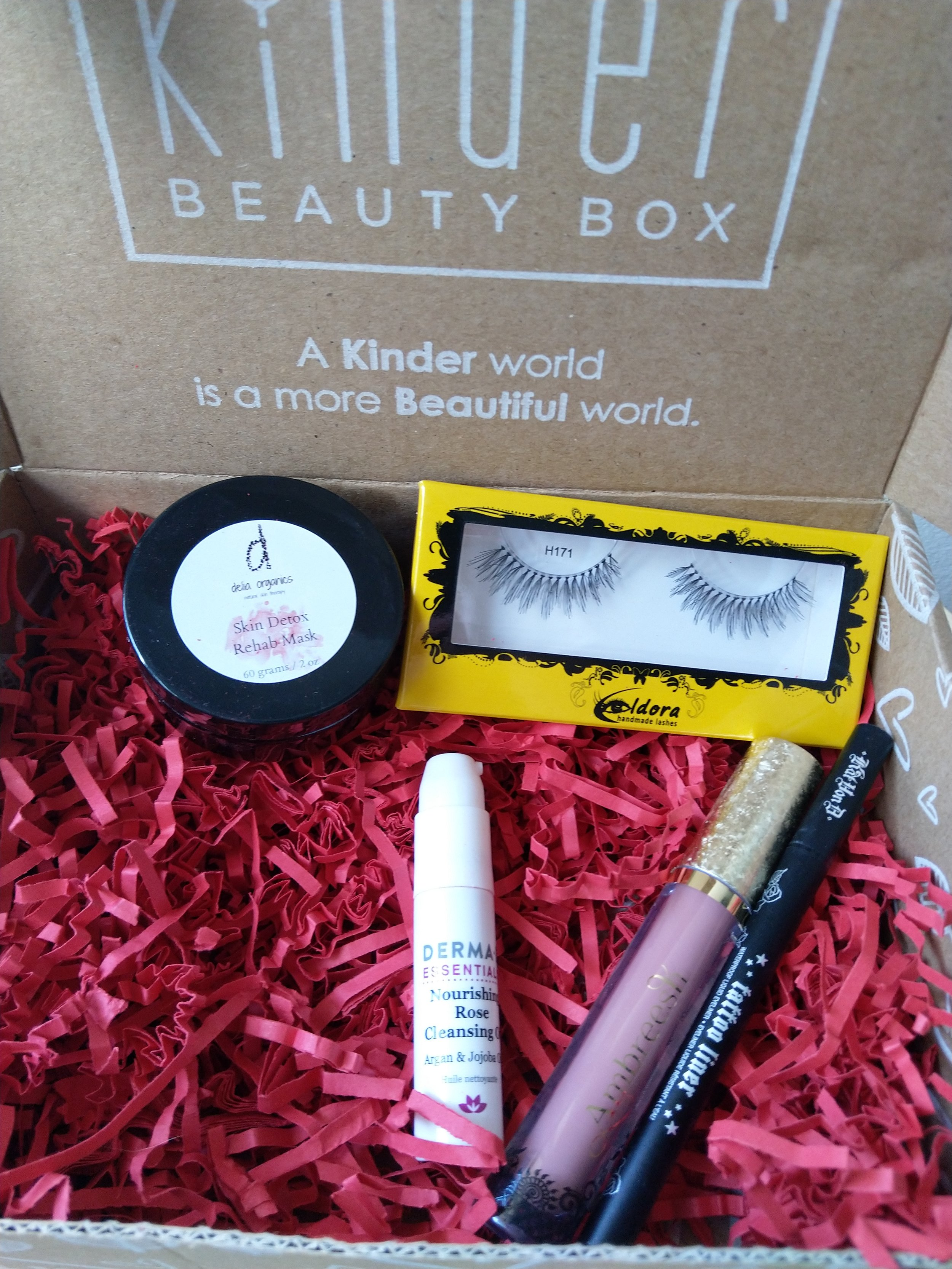 Image: Kinder Beauty Box / Author's own