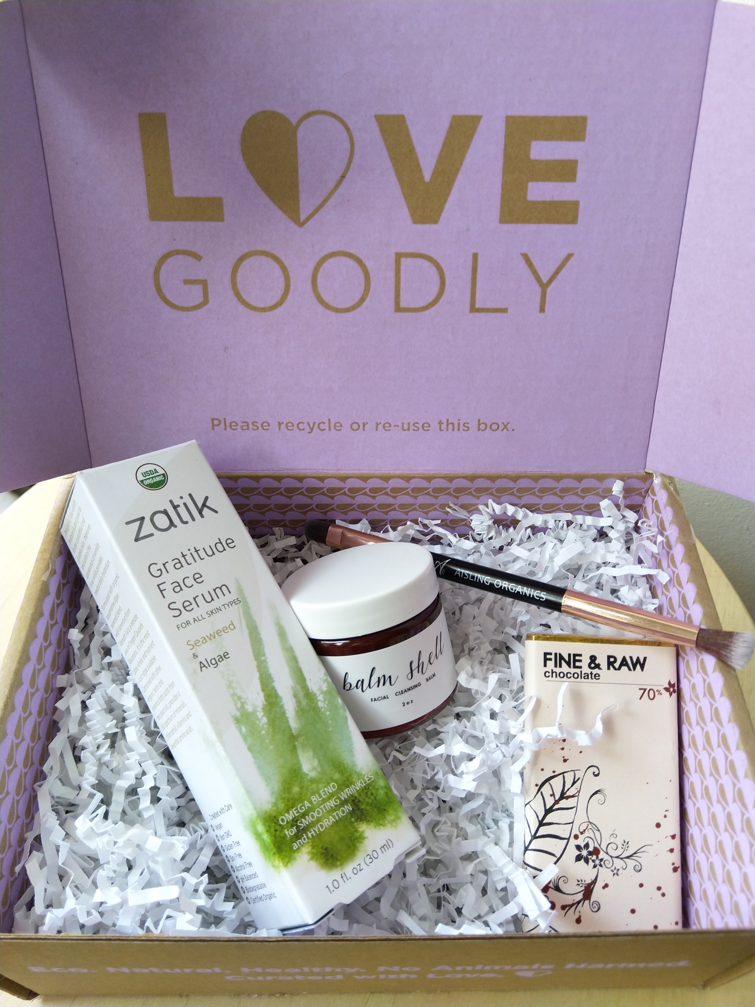 Image: Love Goodly Beauty Box / Image: Author's own