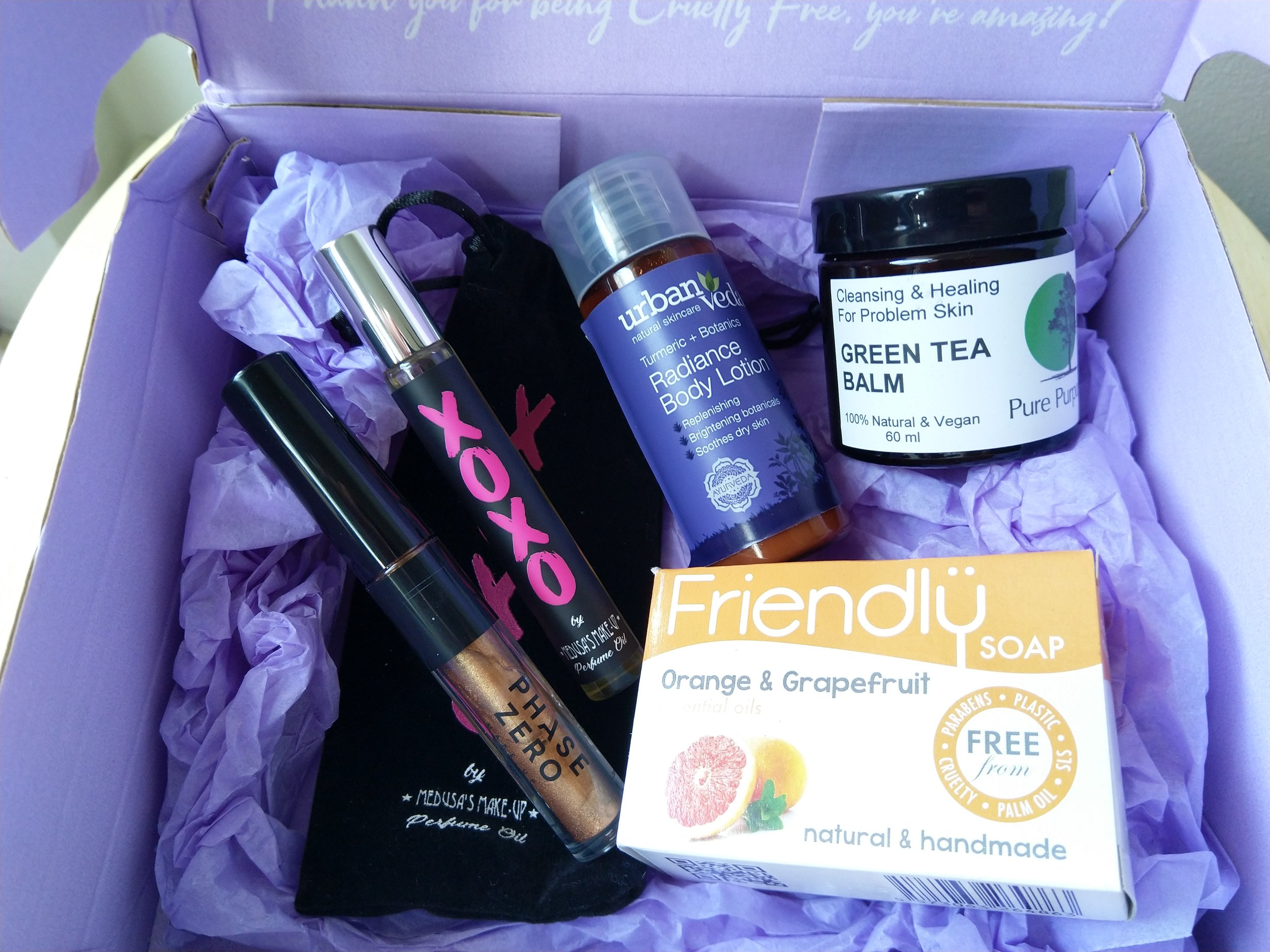 Image: The Cruelty Free Beauty Box / Author's own
