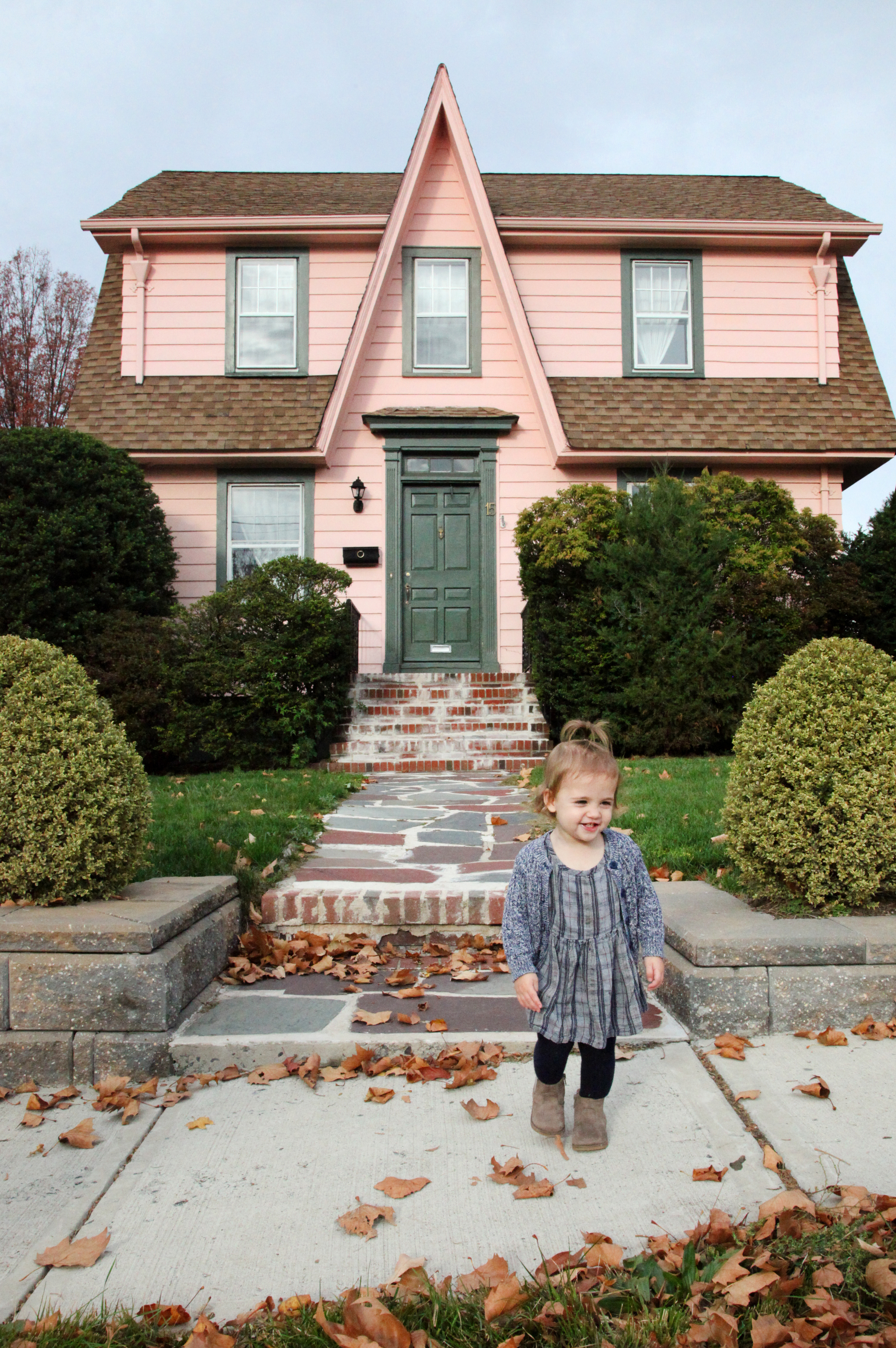The pink house in the #boburbs!