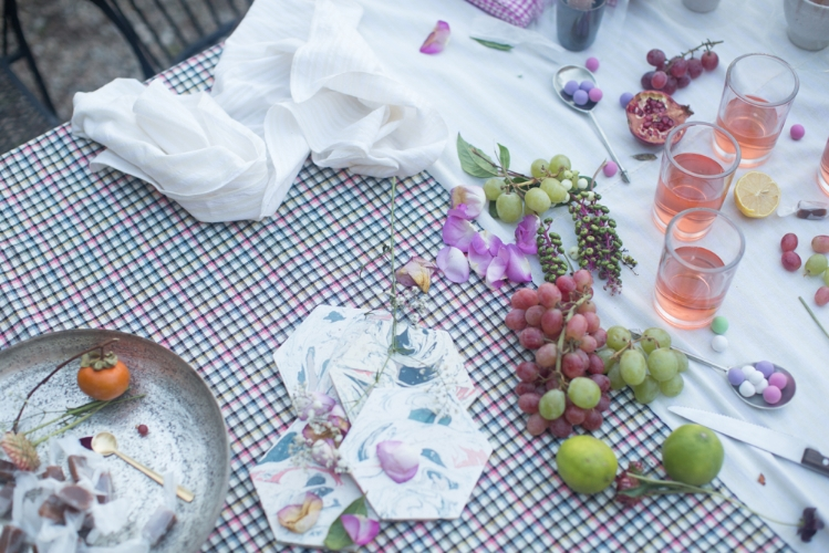A Heather Taylor Home tablescape by  Jeana Sohn