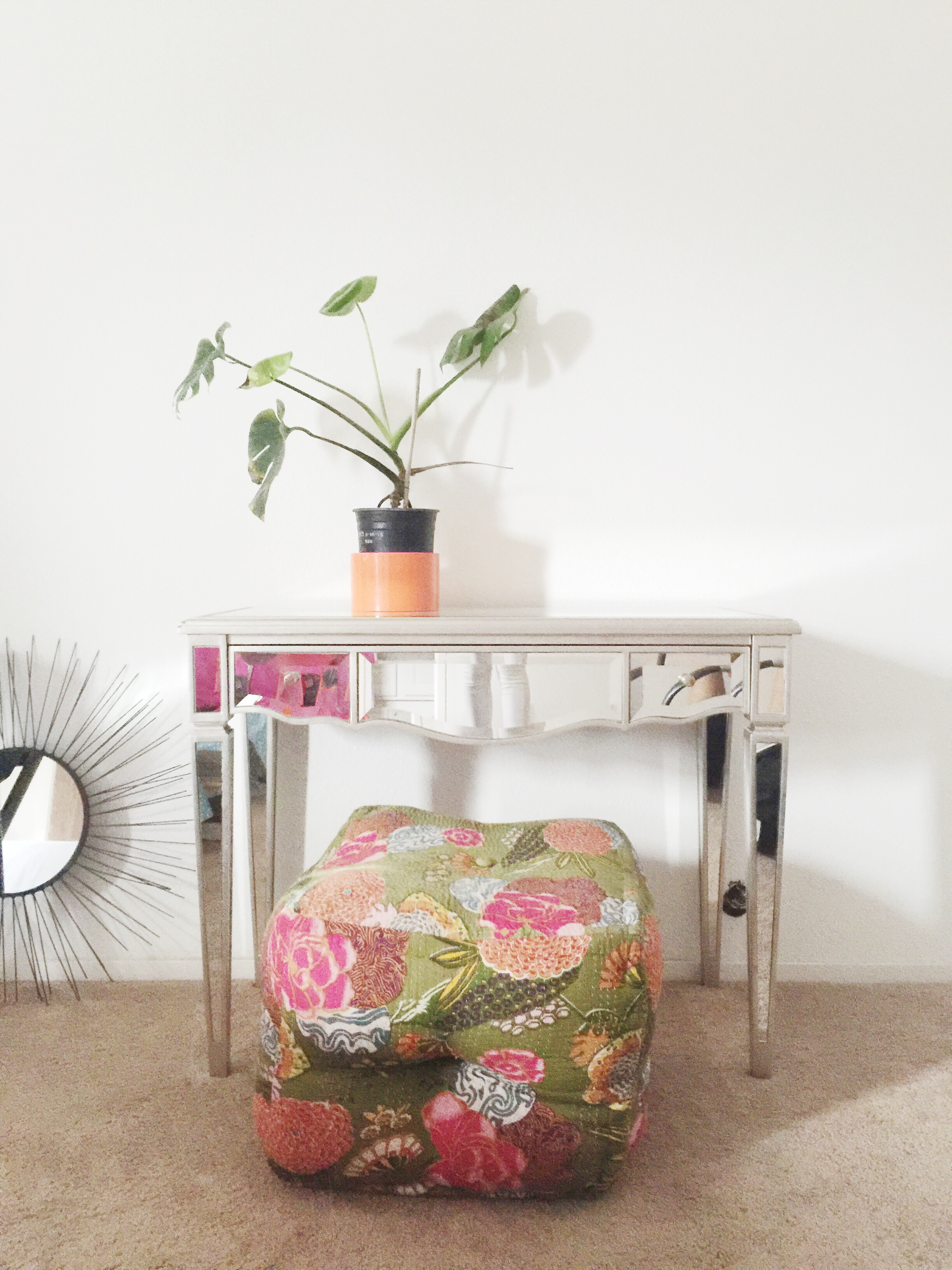Impeccable vignettes: clean lines and a wink of kitsch....