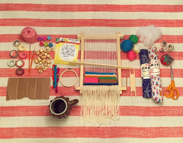 Amy from Land of Nod's toolbox for the week.