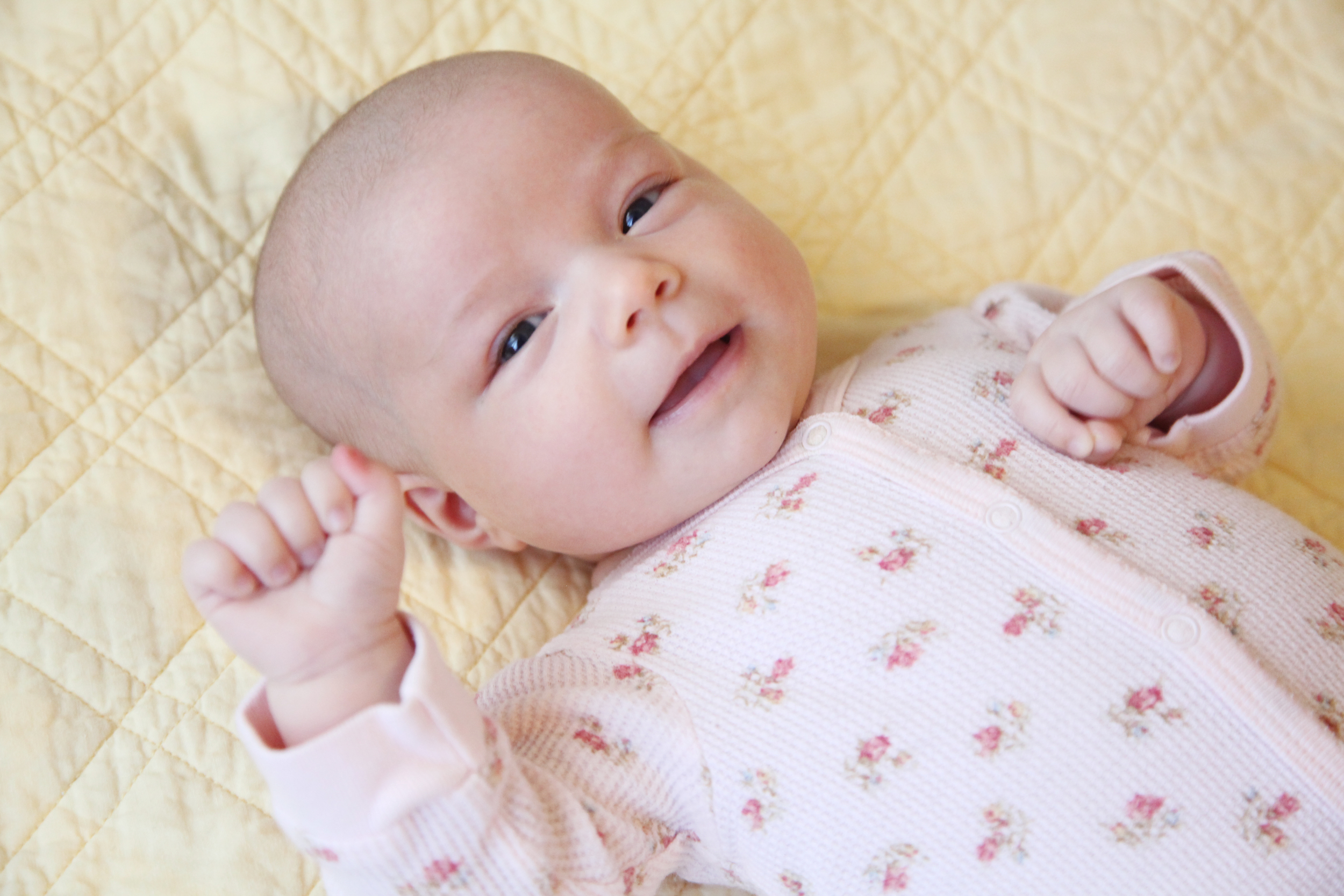 Clio Grace. Both sisters carry heirloom names from their grandmothers.
