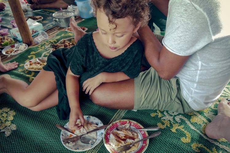 Lunch in Cambodia