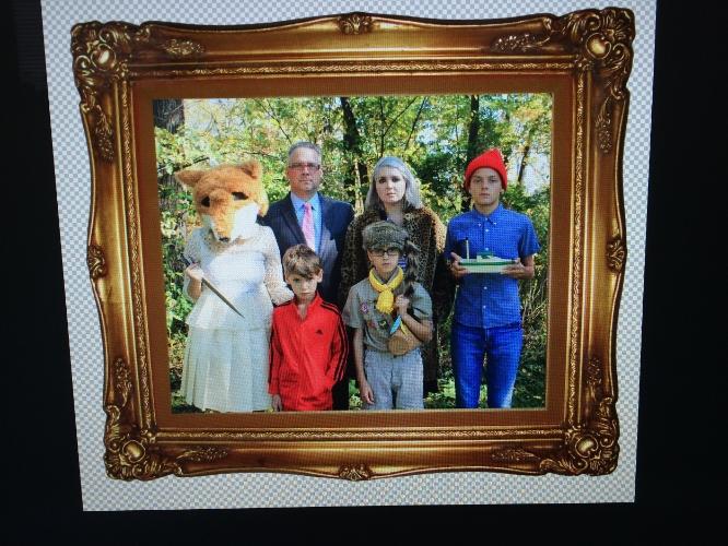 Kooky family portrait.