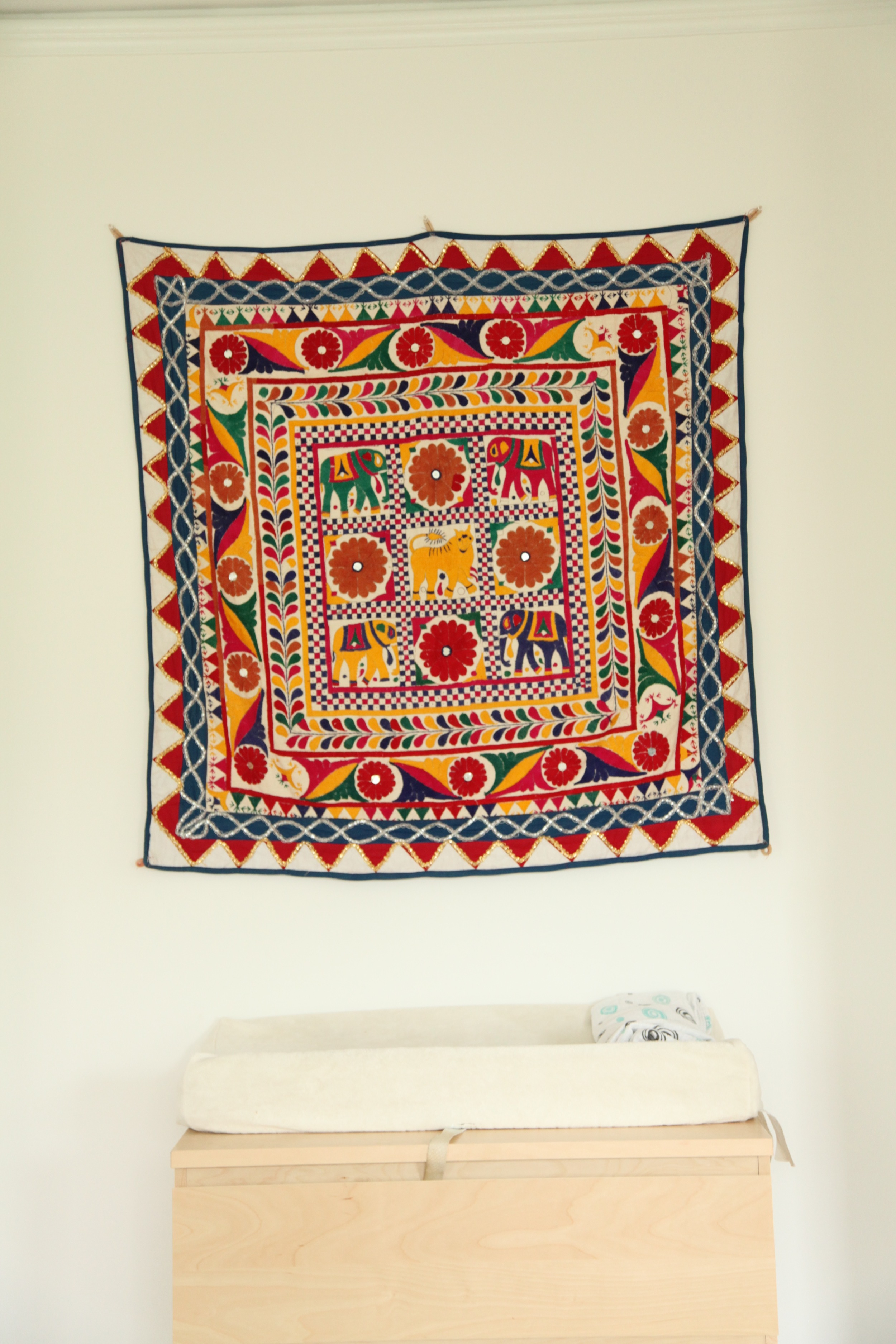 Vintage tapestry.