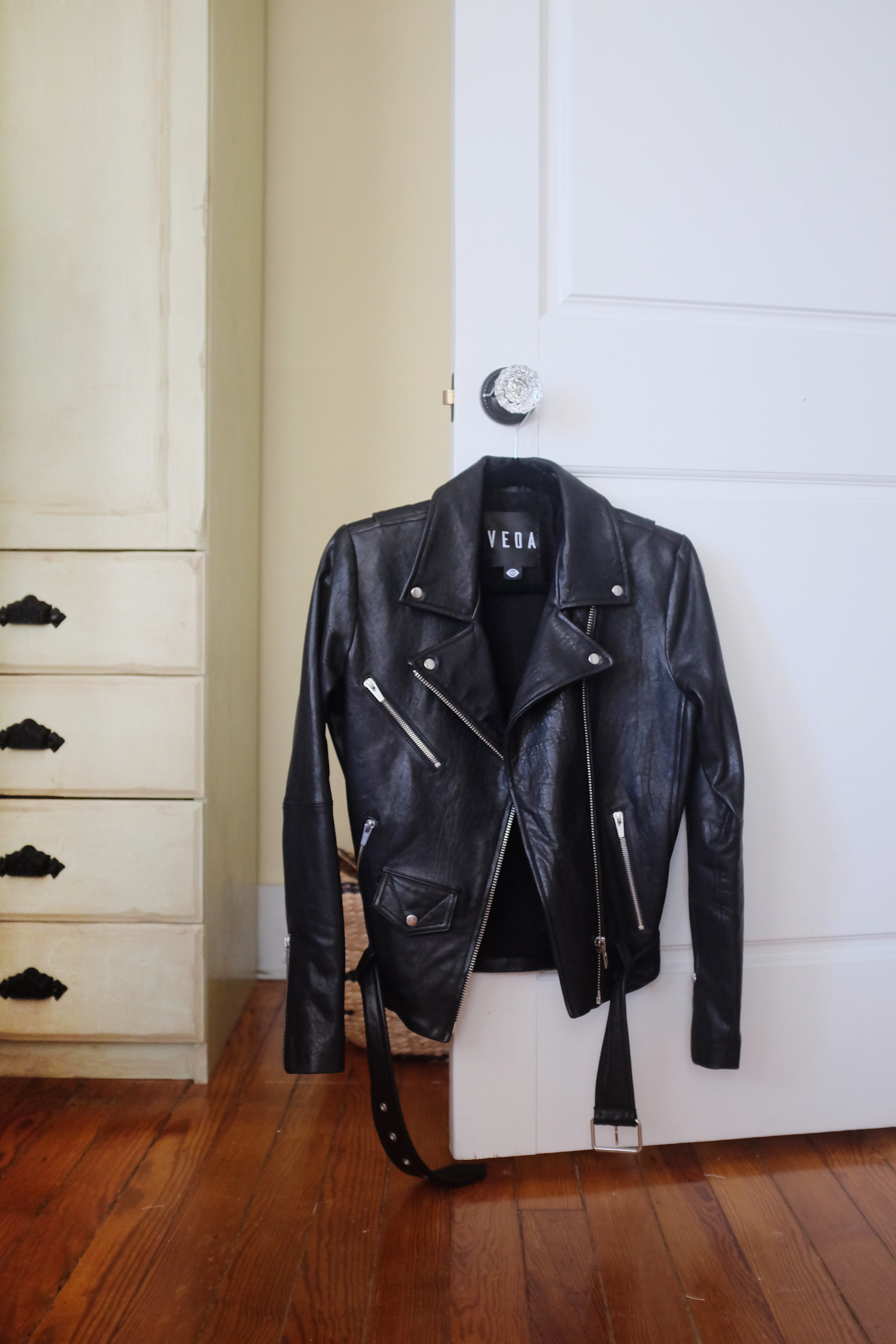 """Veda motorcycle jacket from the amazing   MILLE.  """