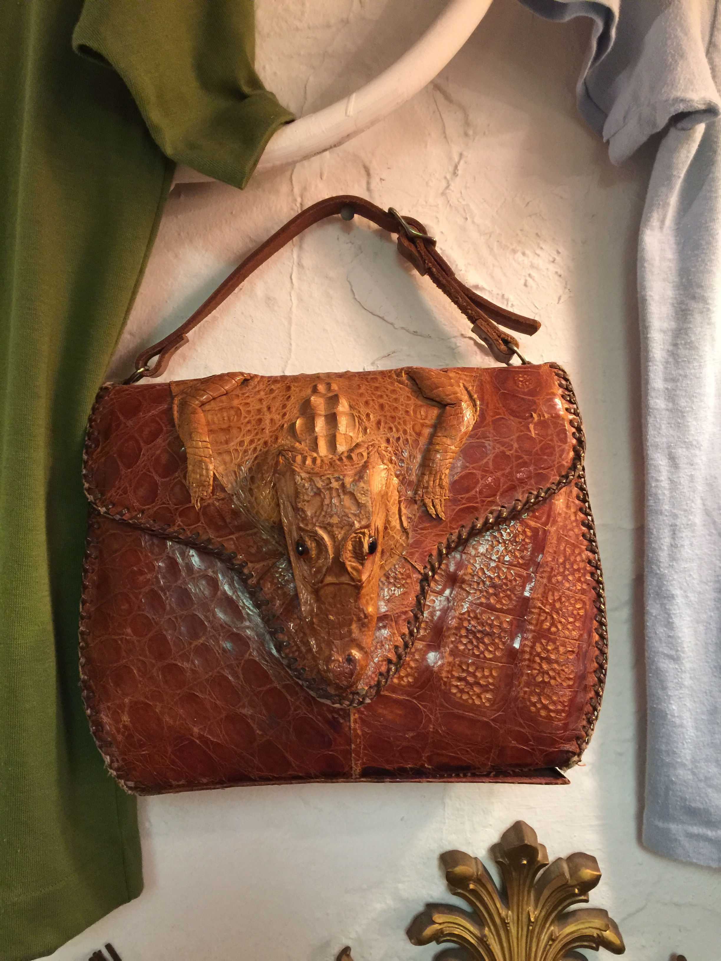 Alligator bag