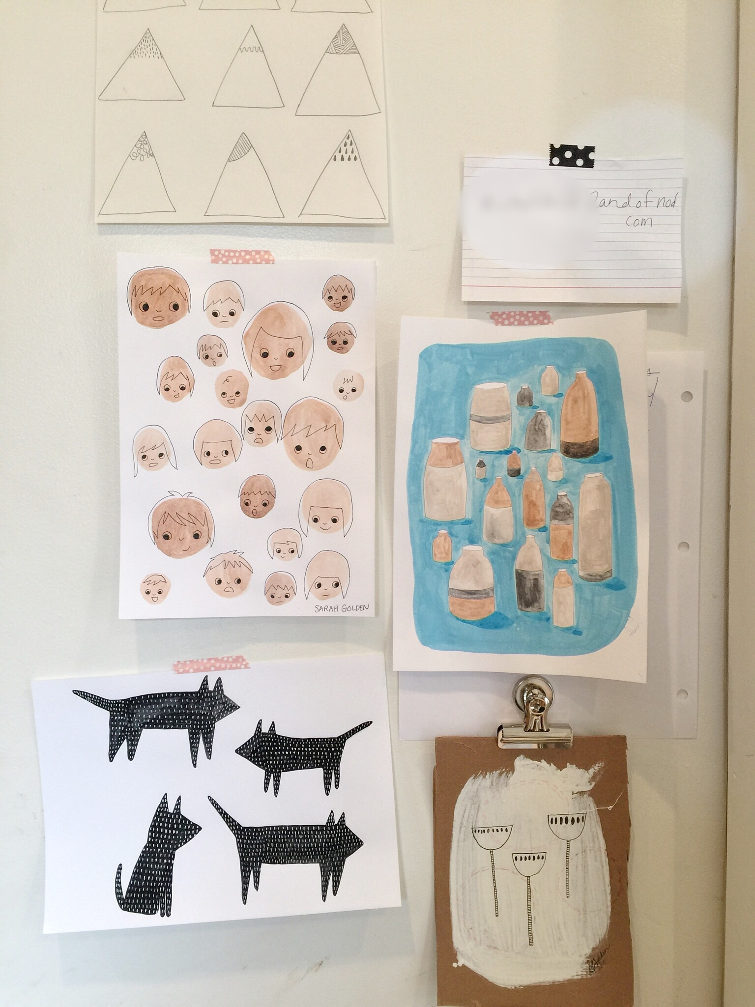 We're crazy about these family doodles!