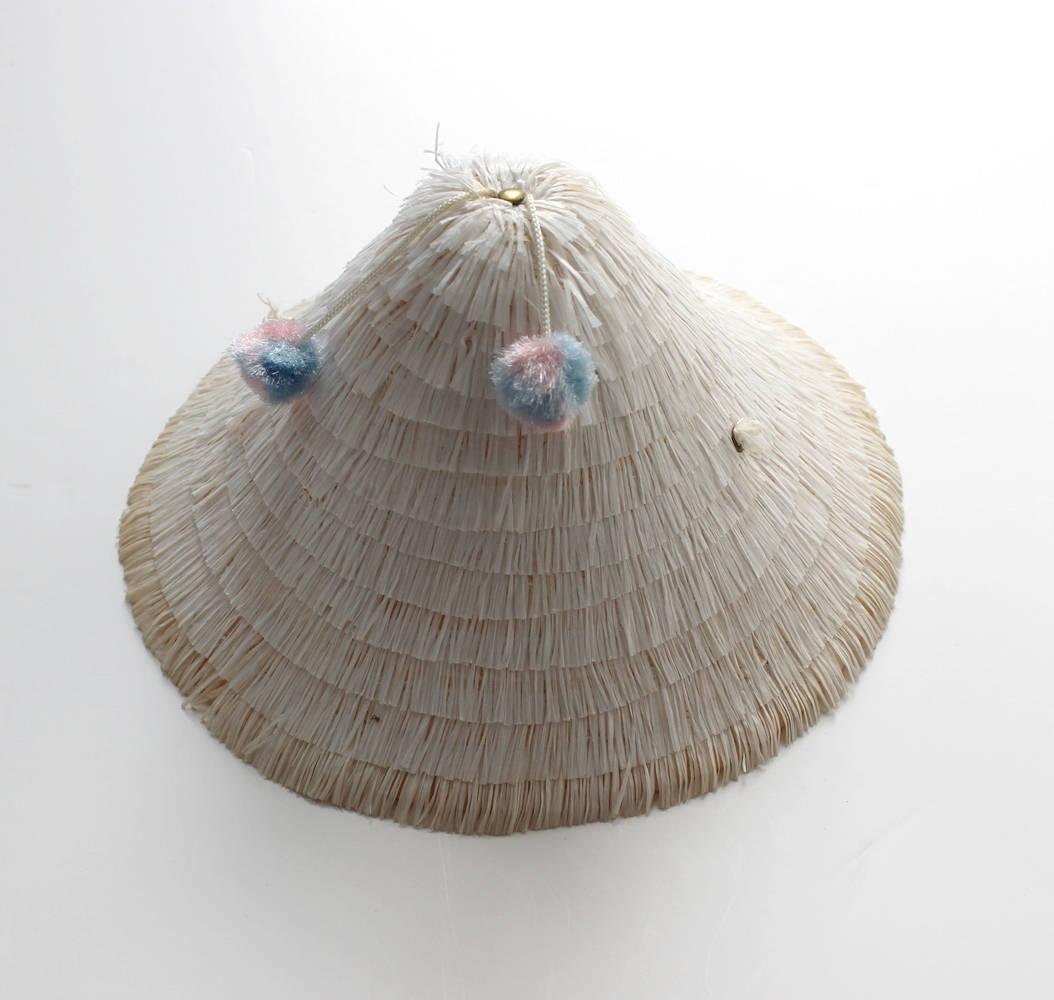 Kid's Raffia Hat