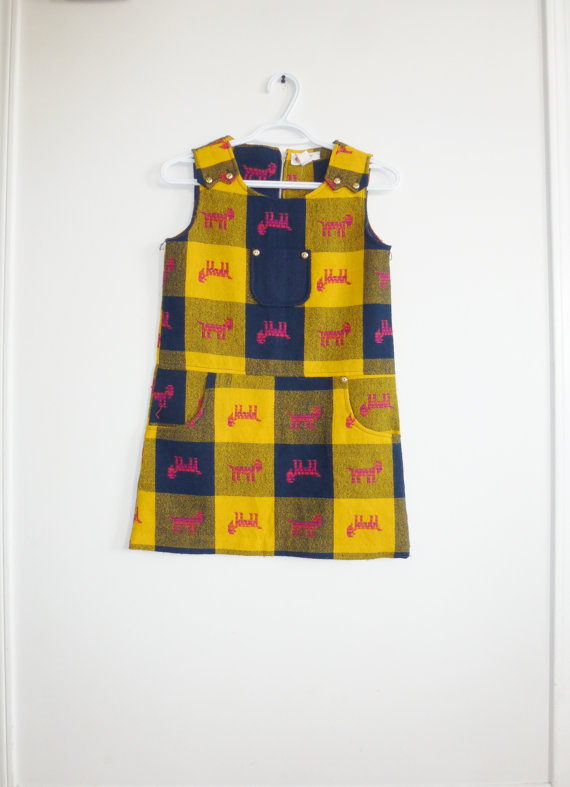 Girl's Tartan Dress