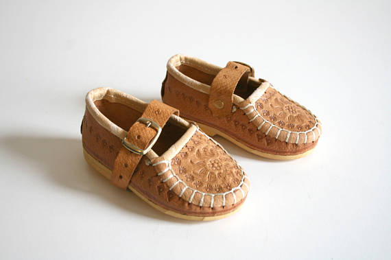 Polish Baby Buckle Shoes