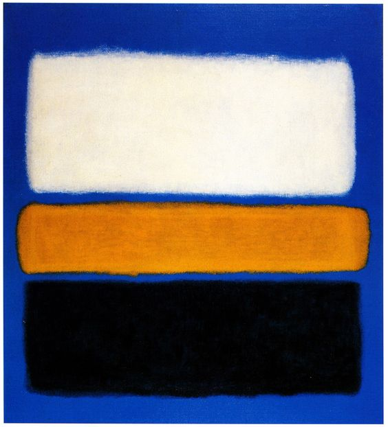 Untitled (Yellow, Red and Blue), 1953 by Mark Rothko