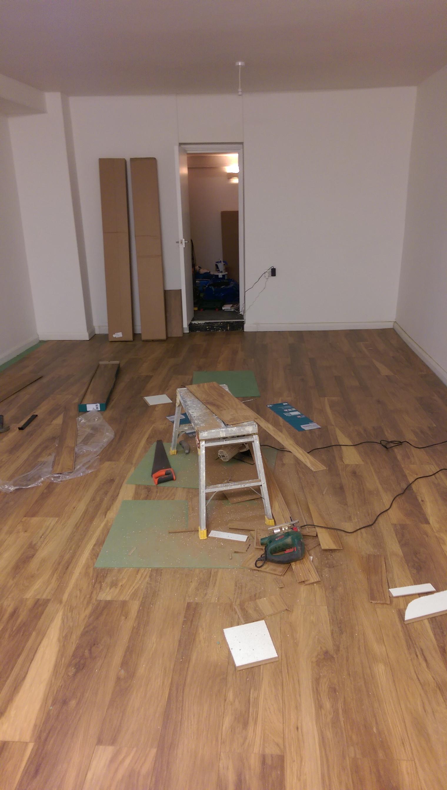 studio floor