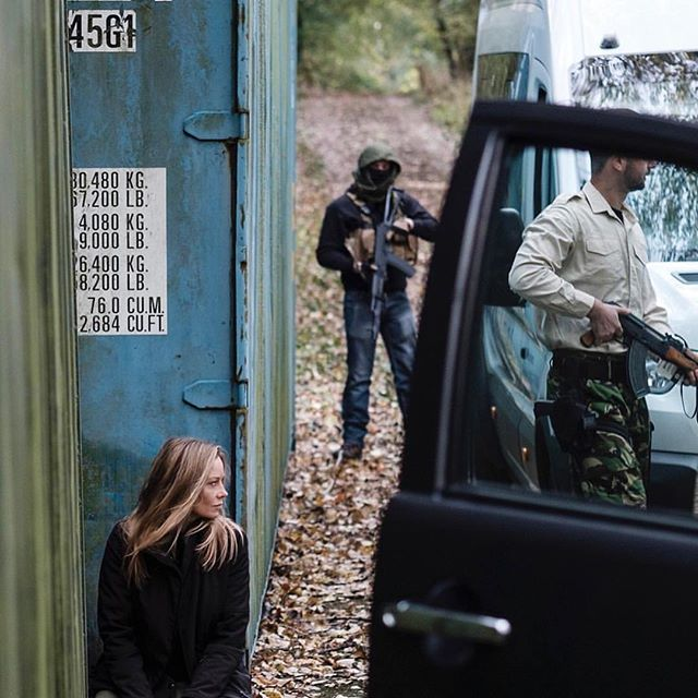 "Reposting the beautiful and talented  @carolina.carlsson7, her acting skills came in handy ;)⠀ ...⠀ ""Incredible #traveling in hostile #environment #training ! @secretme.ltd captured by @gregfunnell #action #real #life #thriller & #movie #prep 🎥"""