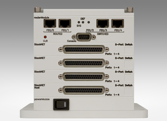 Router and 32-Port Switch (D-Sub)