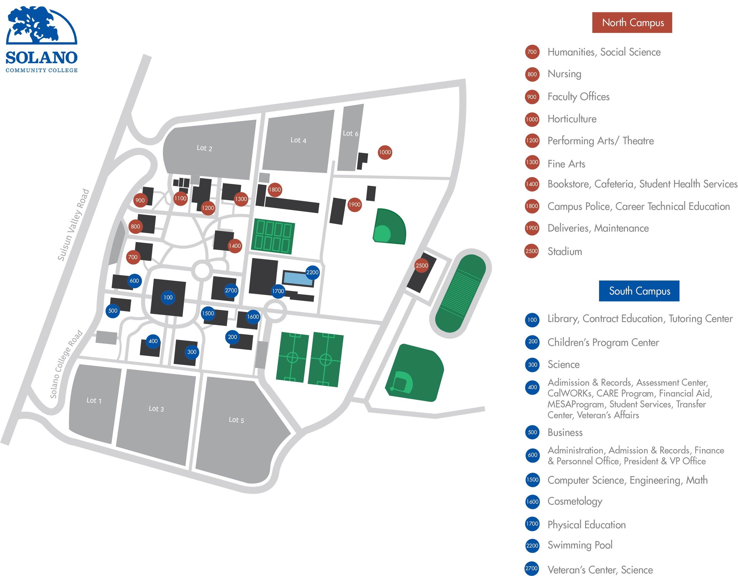 solano college campus map Environmental Joanna Rockwell