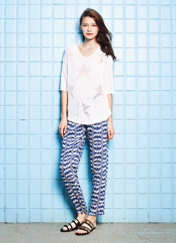 Starred Knit Top & Tanya Trousers