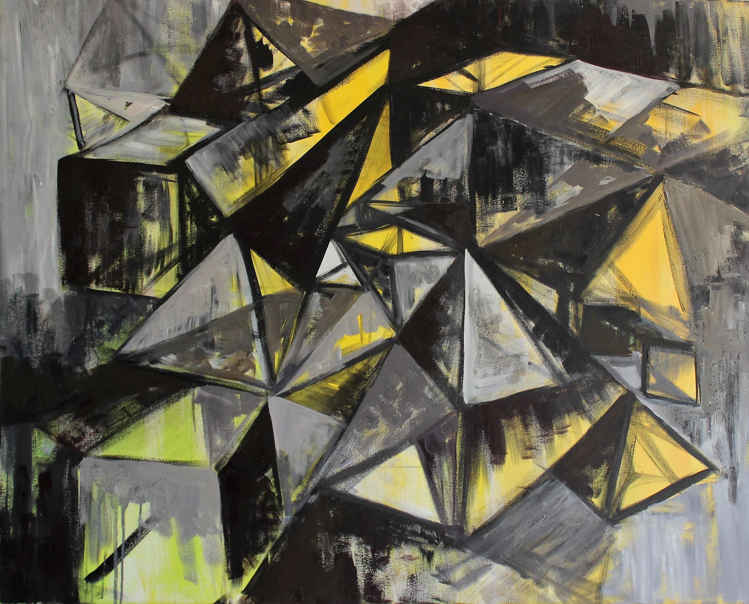 Green & Yellow Geometric