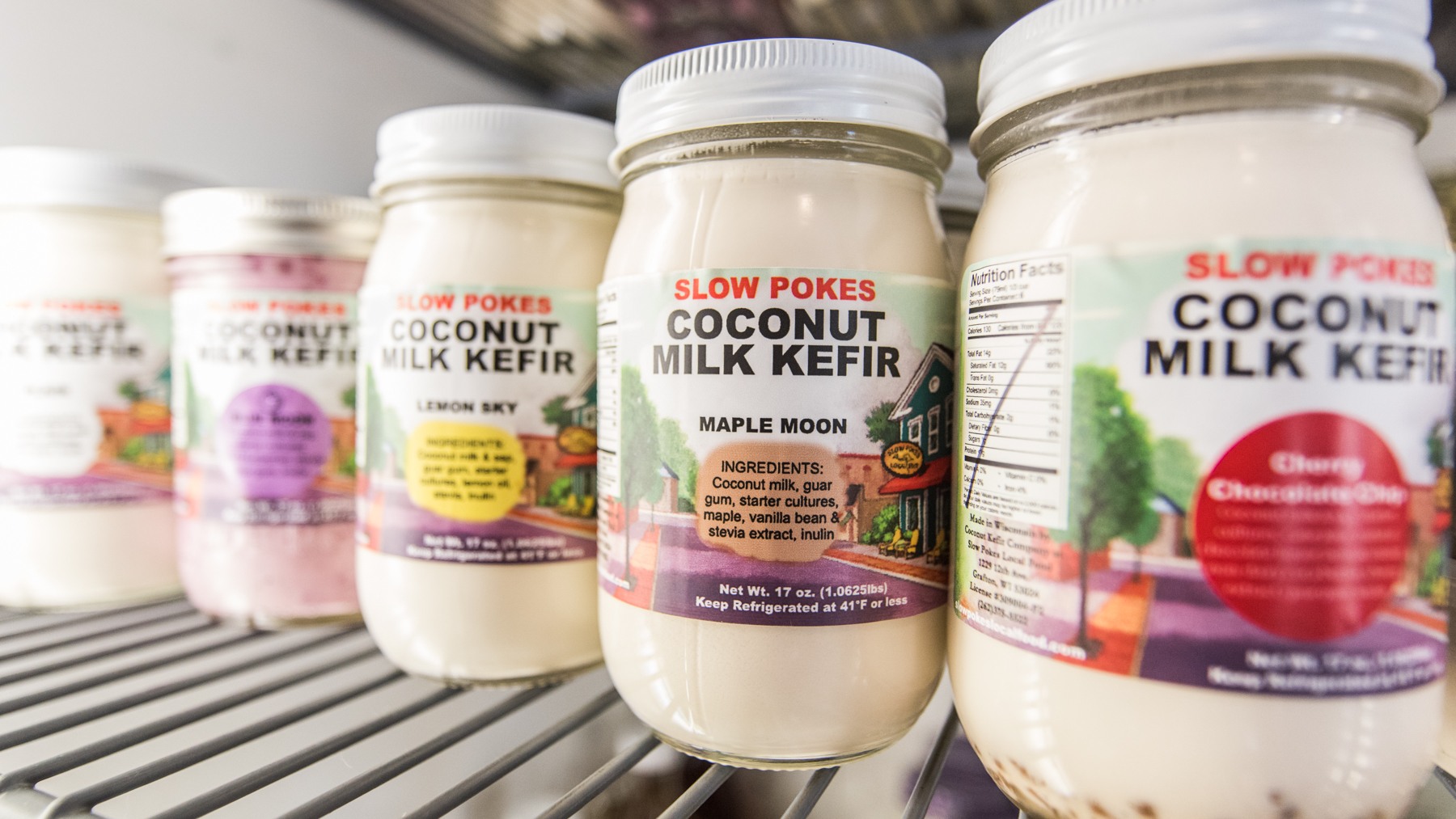 We're known for our   Coconut Kefir    What's it all about?