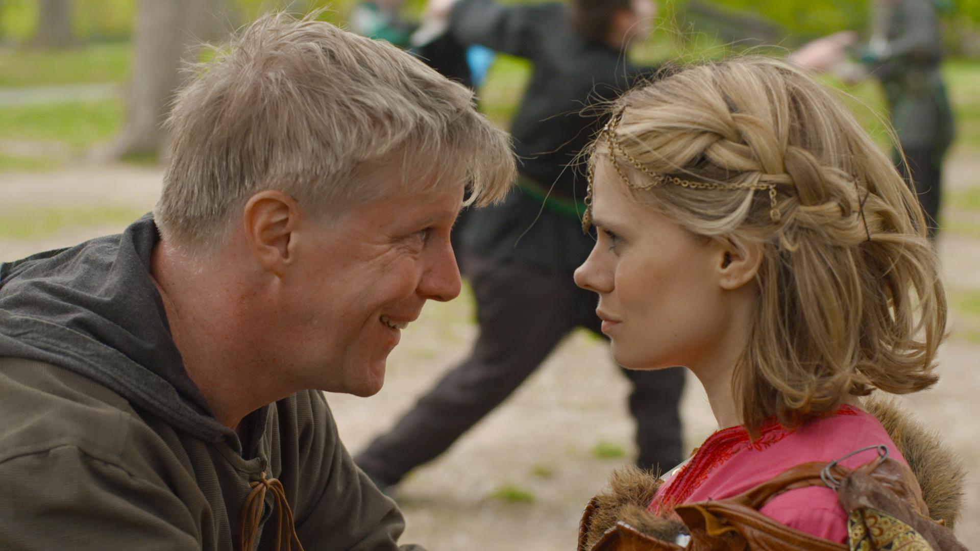Karl Kenzler and Celia Keenan-Bolger in the series finale of Darwin The Series