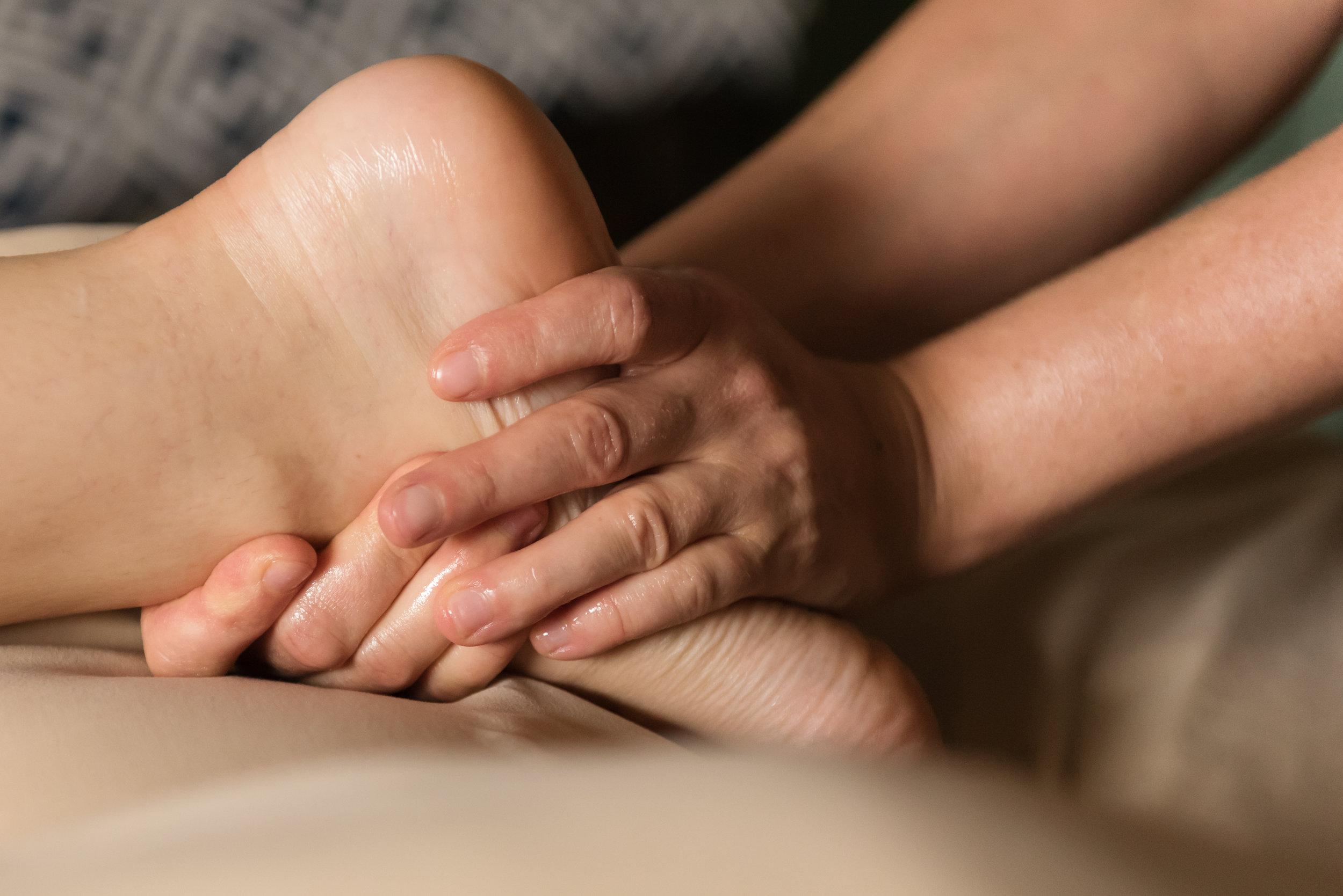 Lymphatic detox massage