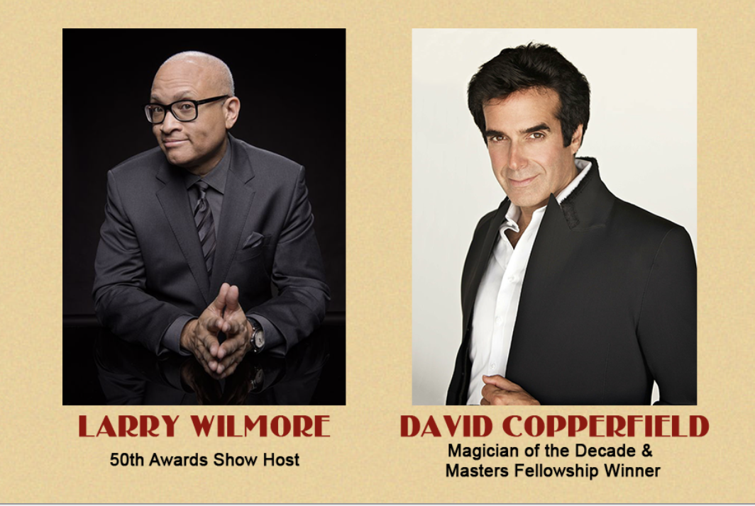 Larry Wilmore and David Copperfield