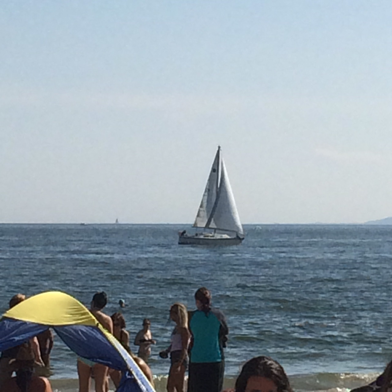 9/4/17 Brighton Beach Brooklyn. Enjoy sunshine with SABIT tank top & short.Beautiful day on the beach.