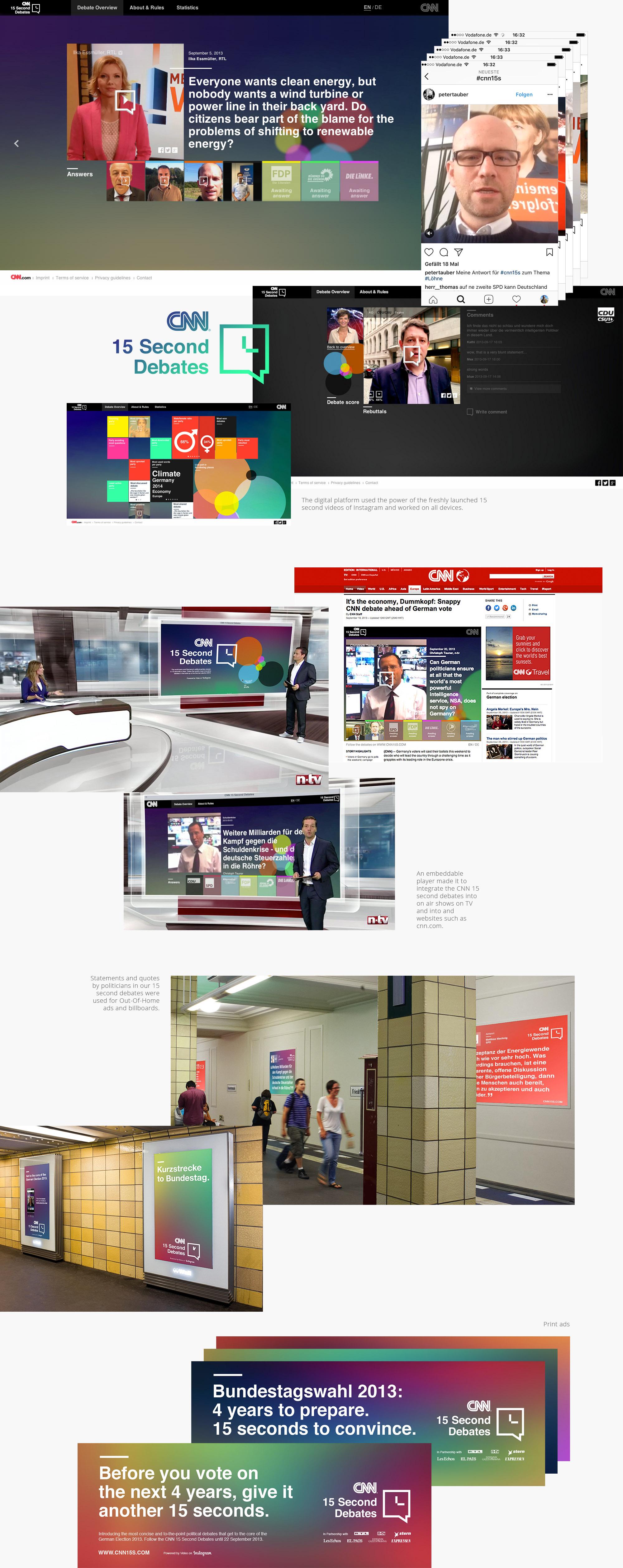 CNN - The 15 second debates