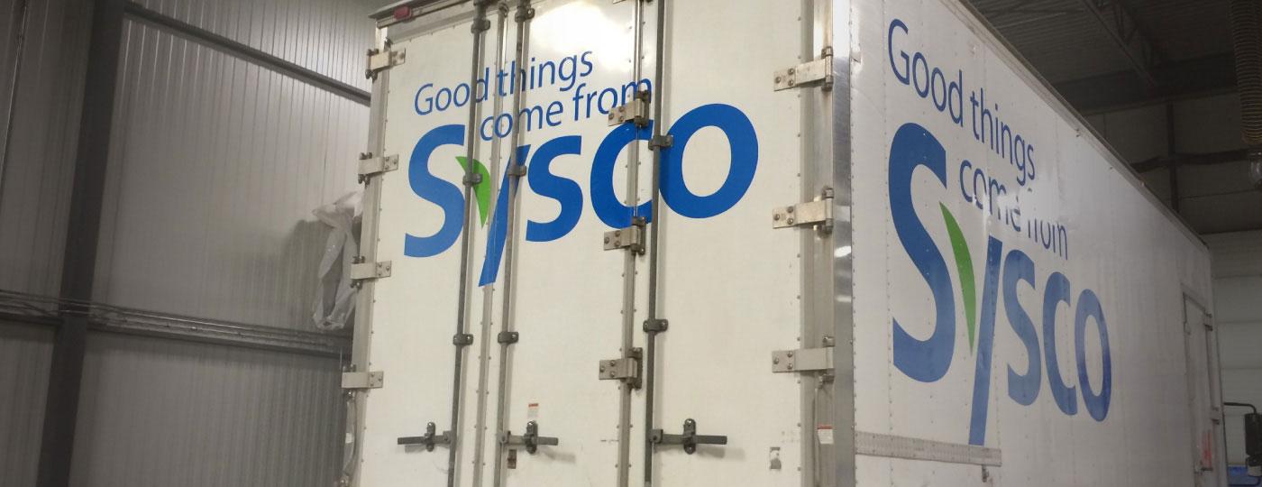 Sysco Fleet Decals
