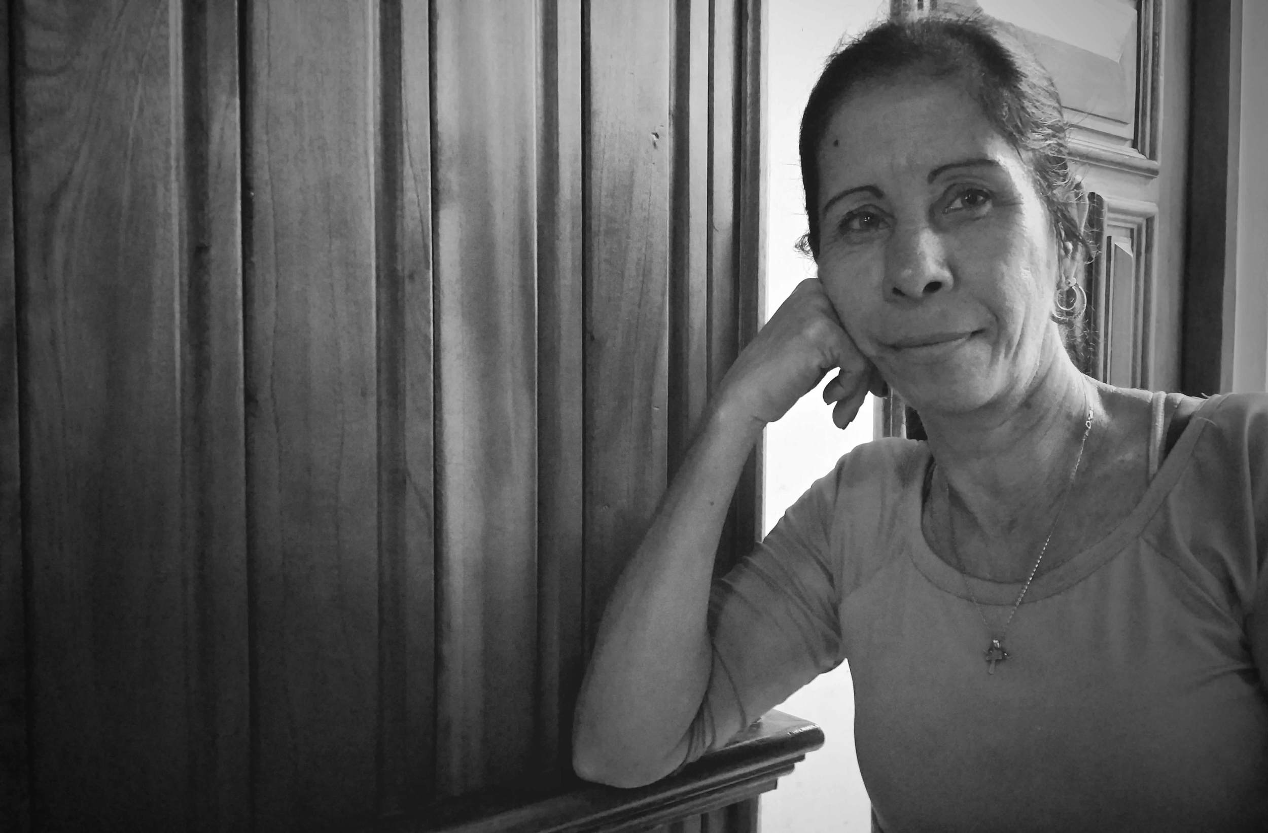 Barbara worked at the cigar factory store in Havana and was supervising bathroom use. While others were in a frenzy buying cigars and rum, I was having a conversation in broken English and Spanish, which was the first and one of the most touching experiences I've had talking with a stranger in a foreign country. We ended our conversation with an embrace, one I will never forget.