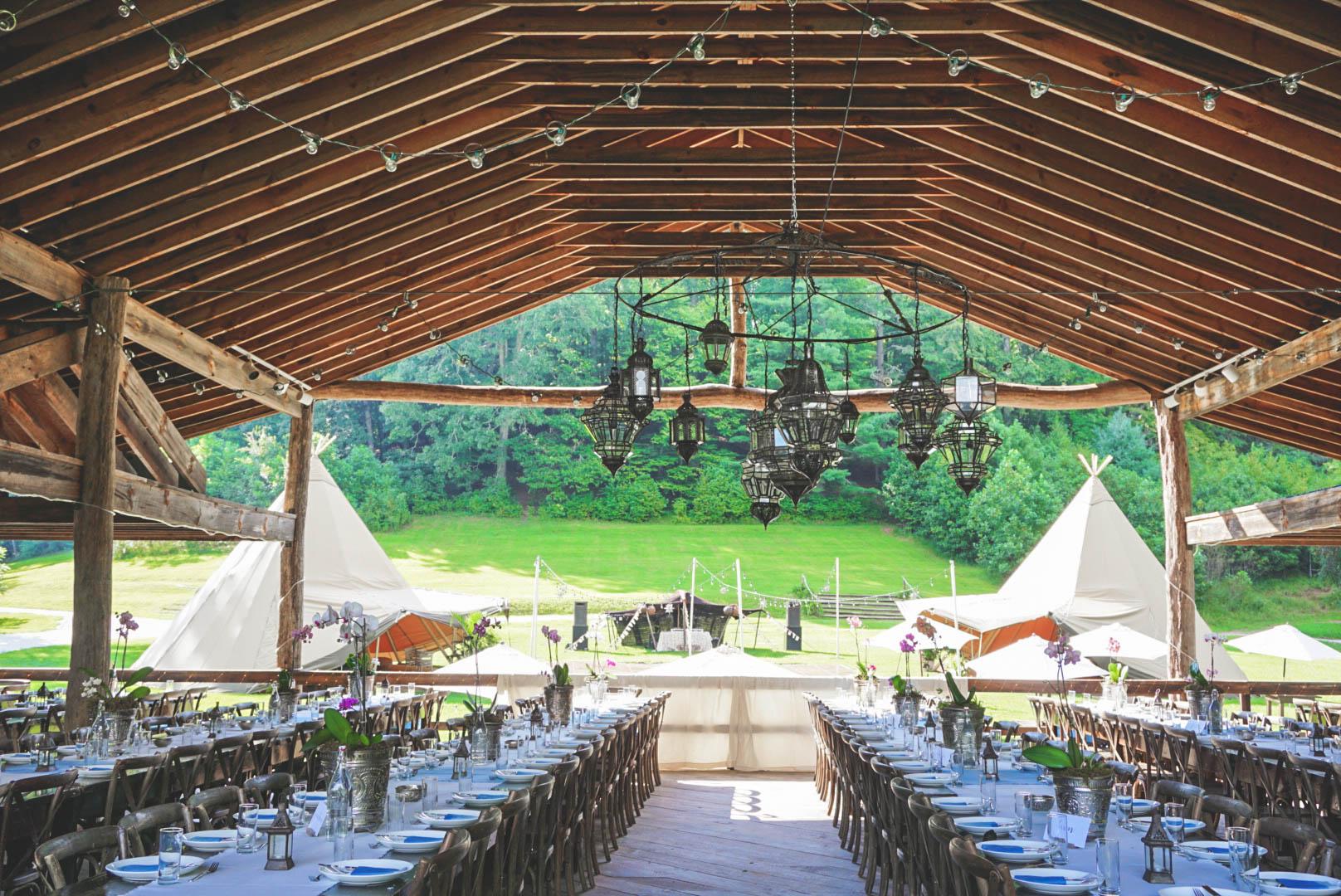 Simone + Danny's Moroccan Mountain Wedding in Asheville   Indah Events Tipi Rental