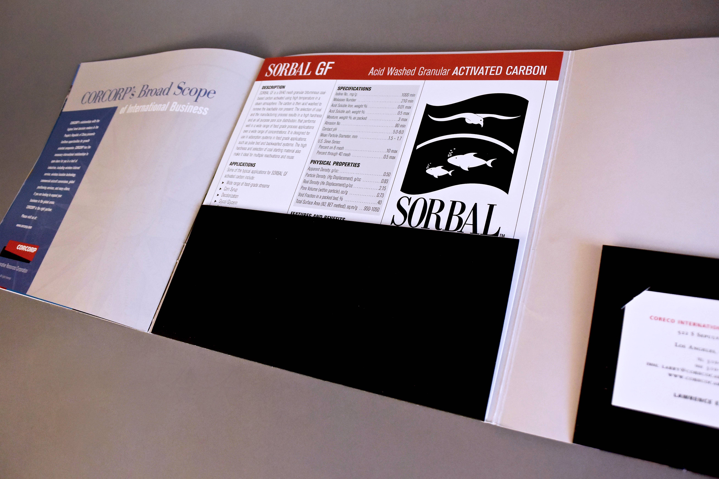 Product Brochure with Product Information Sheets