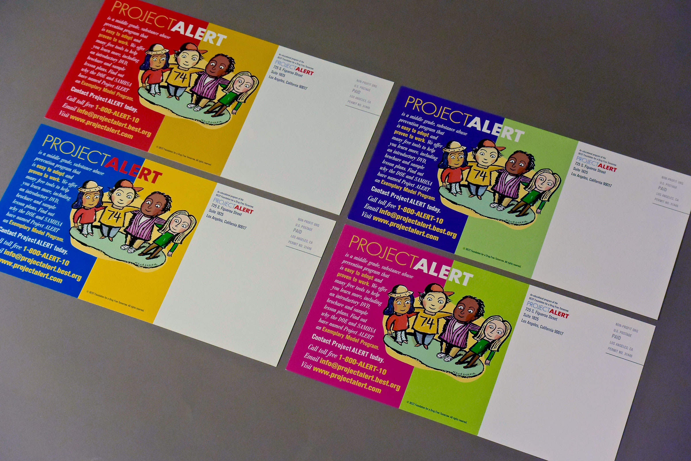 Direct Mail Postcards (outbound)