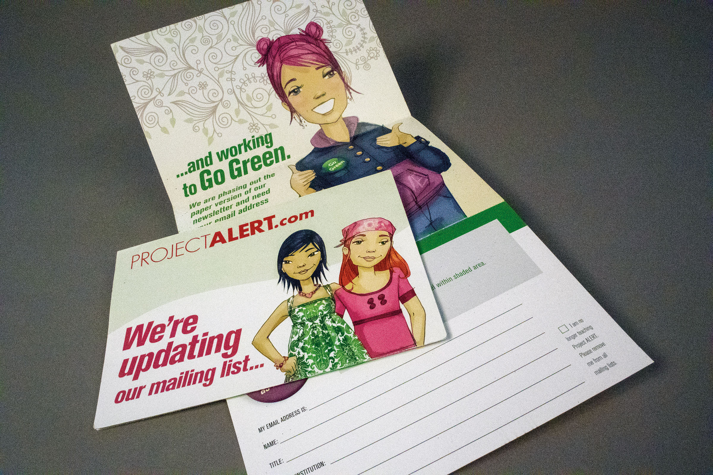Direct Mail Folded Card