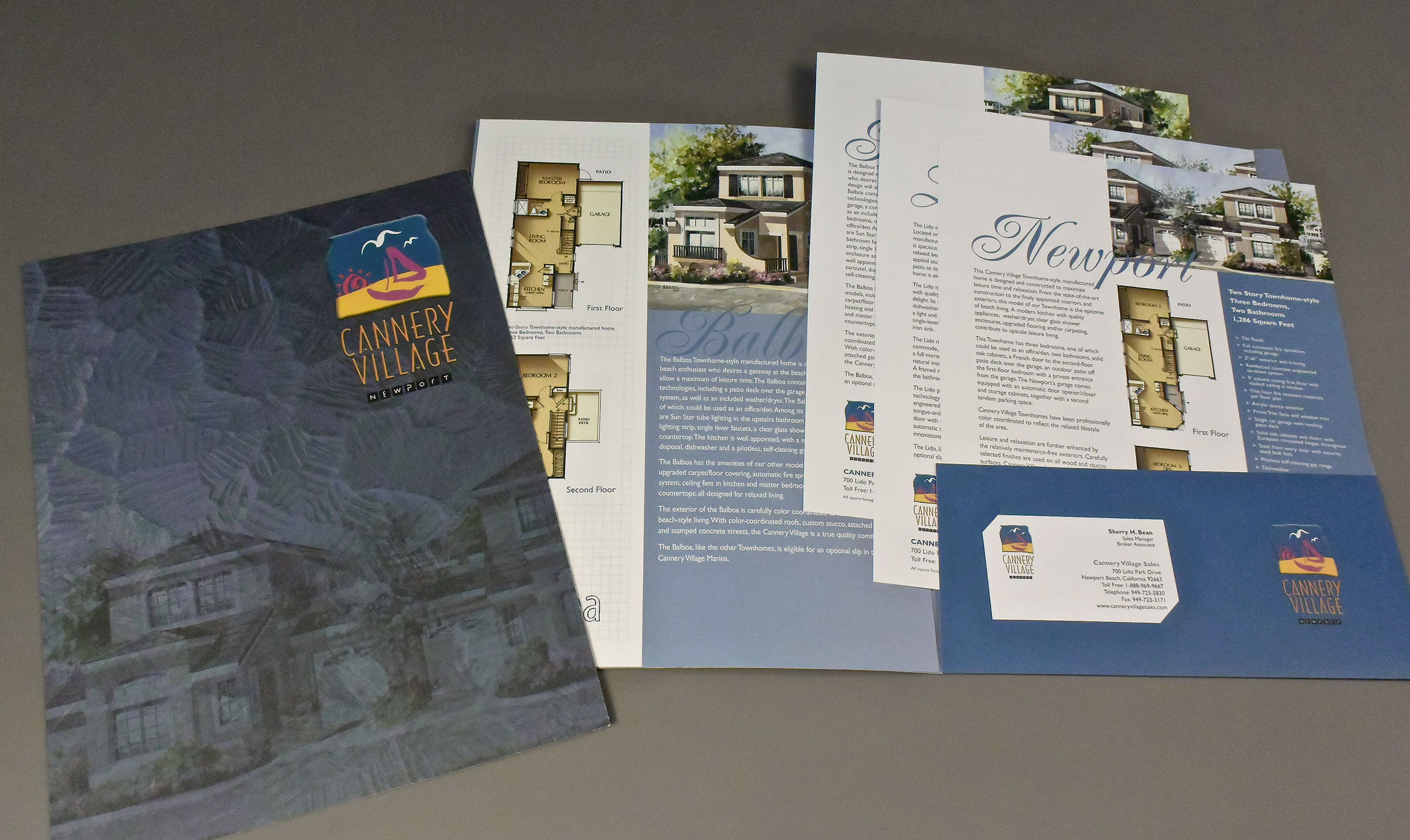 Community Sales Brochure with Product Inserts