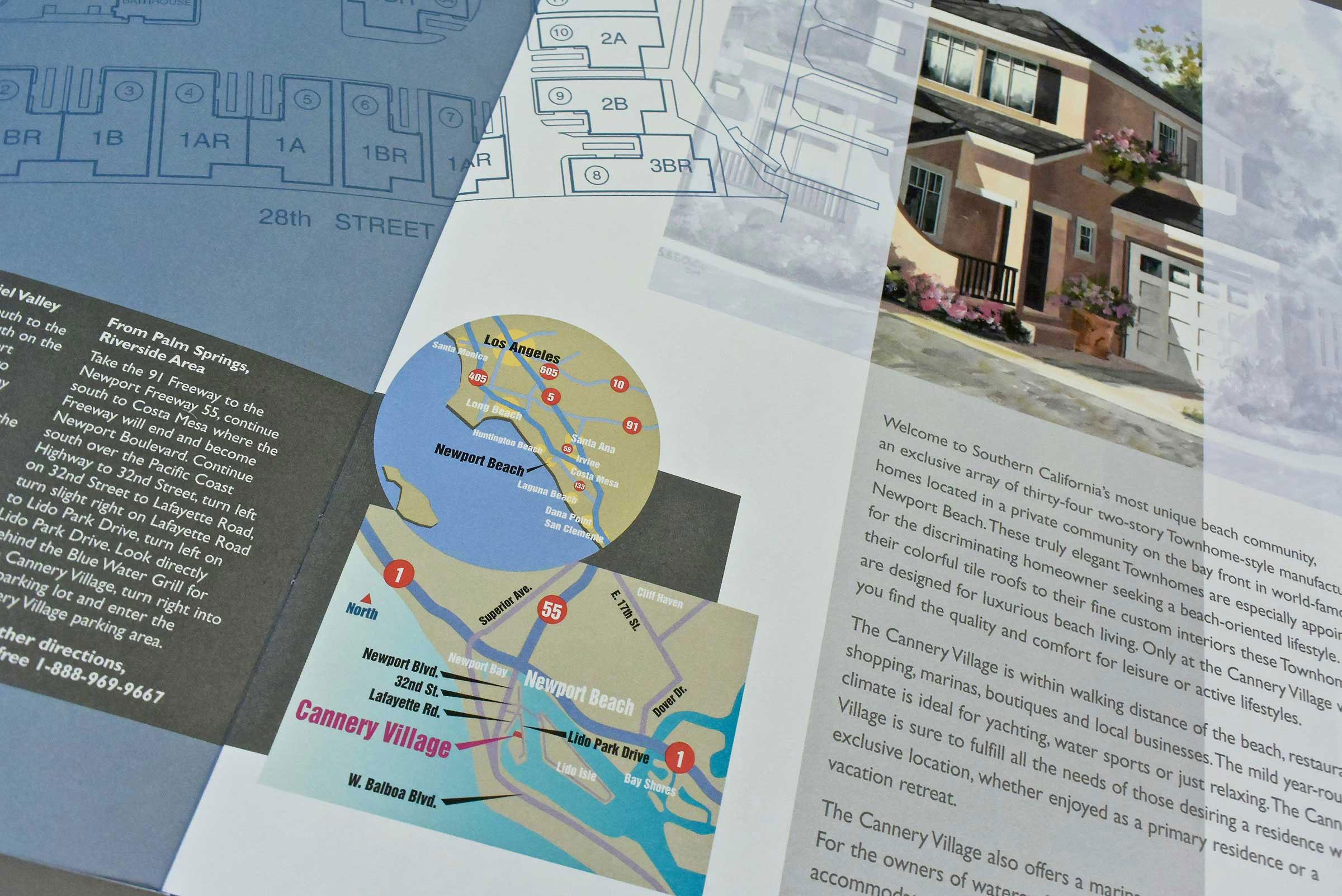 Community Sales Brochure Interior (detail)
