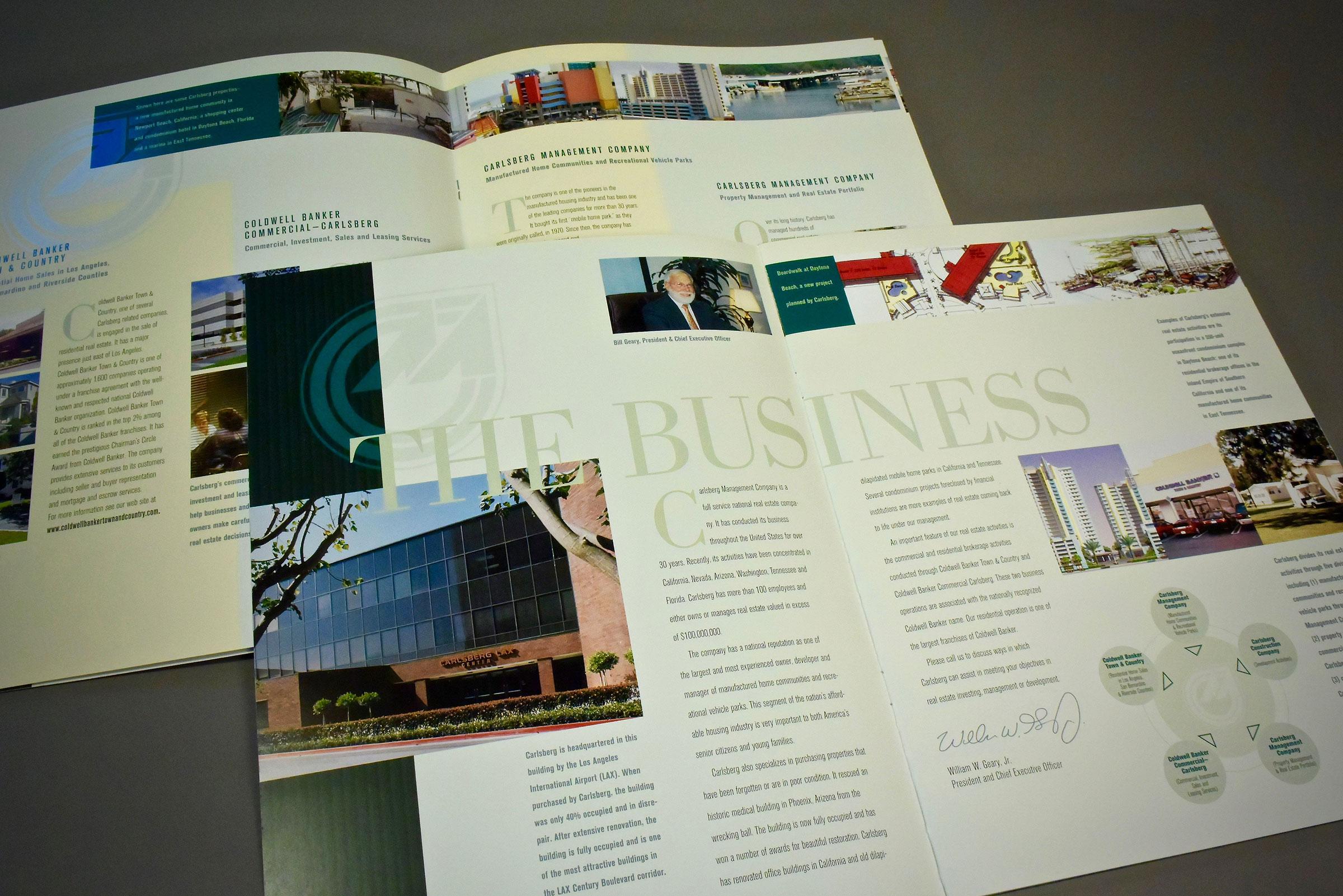 Corporate Capabilities Brochure (interior)