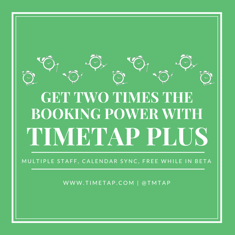 Gained features with TimeTap Plus